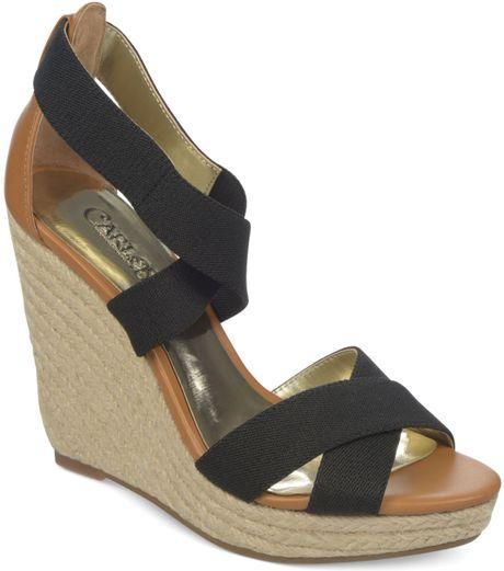 carlos by carlos santana maite platform wedge sandals in