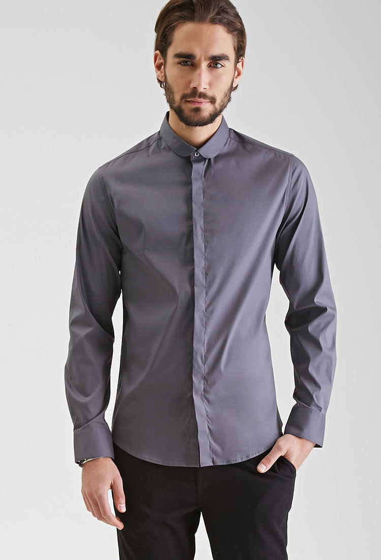 Button Down Collar Shirts For Men - Greek T Shirts