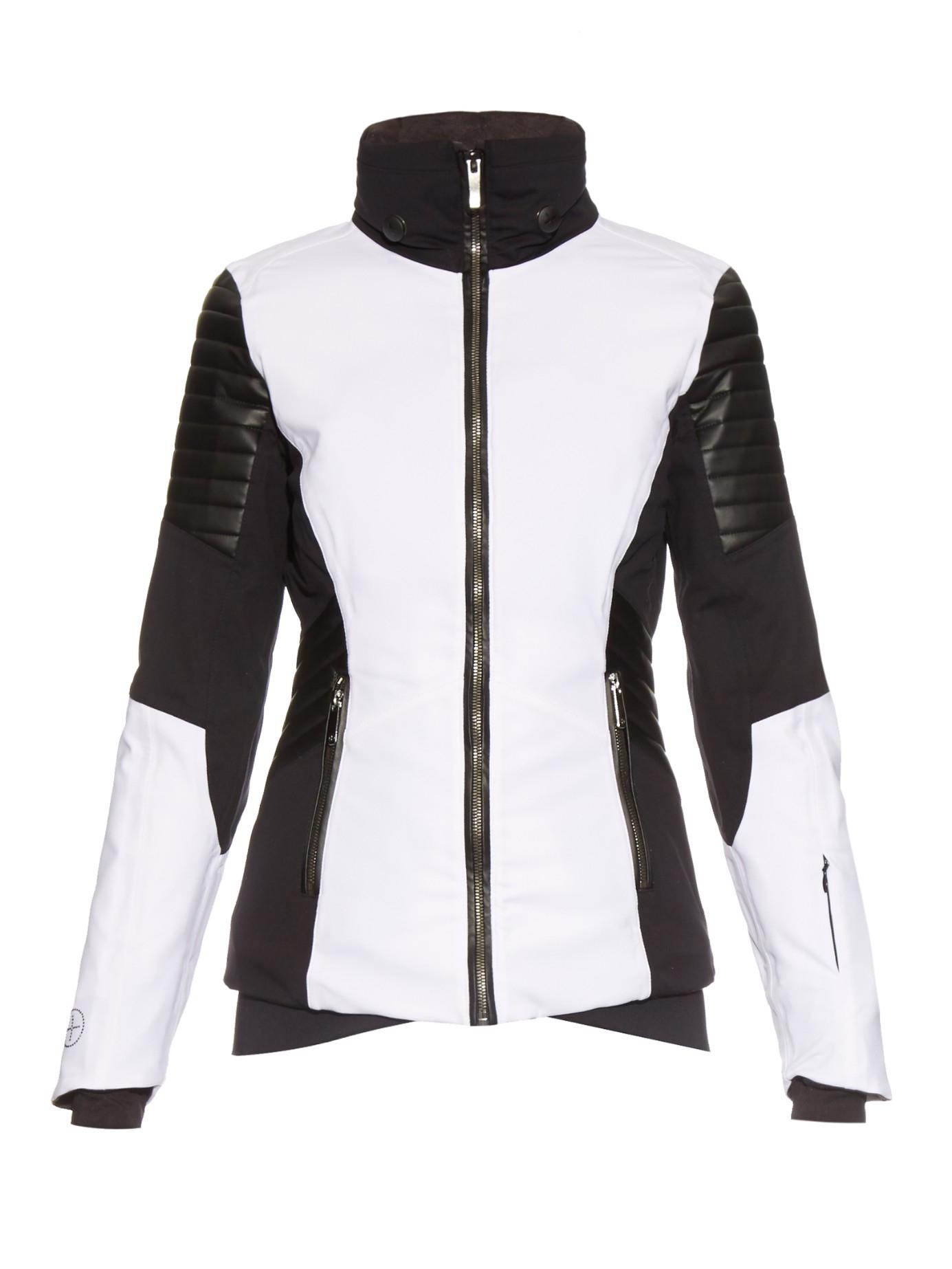 9f2777799d82 In Lyst Distinction White Lacroix Ski Jacket Water Resistant XdqFx0U