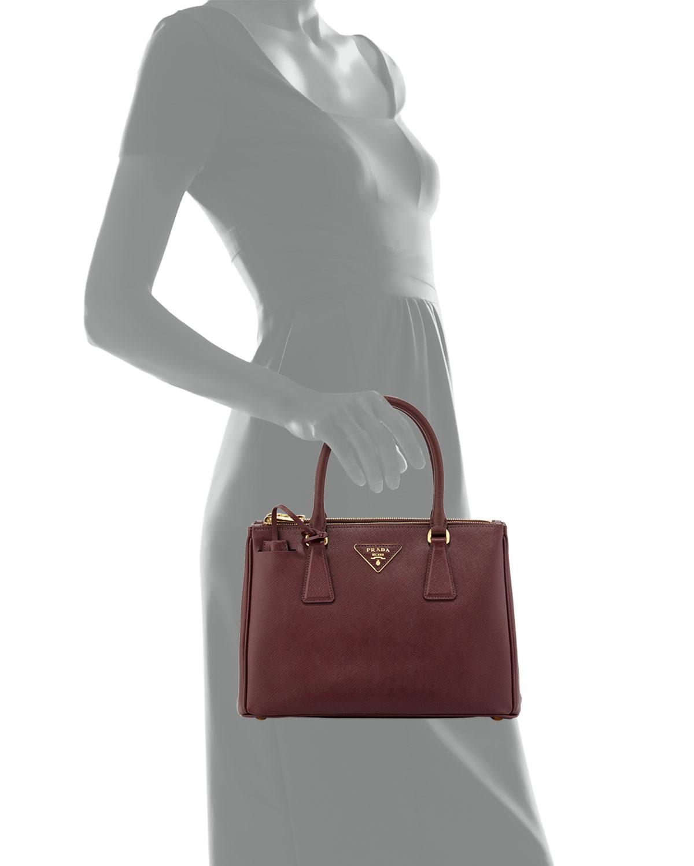 1790647c901e ... handbags 583ae 9be40  order lyst prada saffiano small executive tote bag  in purple 8af2e 5b94d
