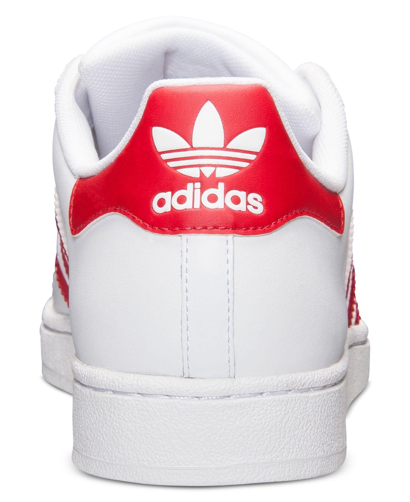 Grade School Adidas Superstar Casual Shoes