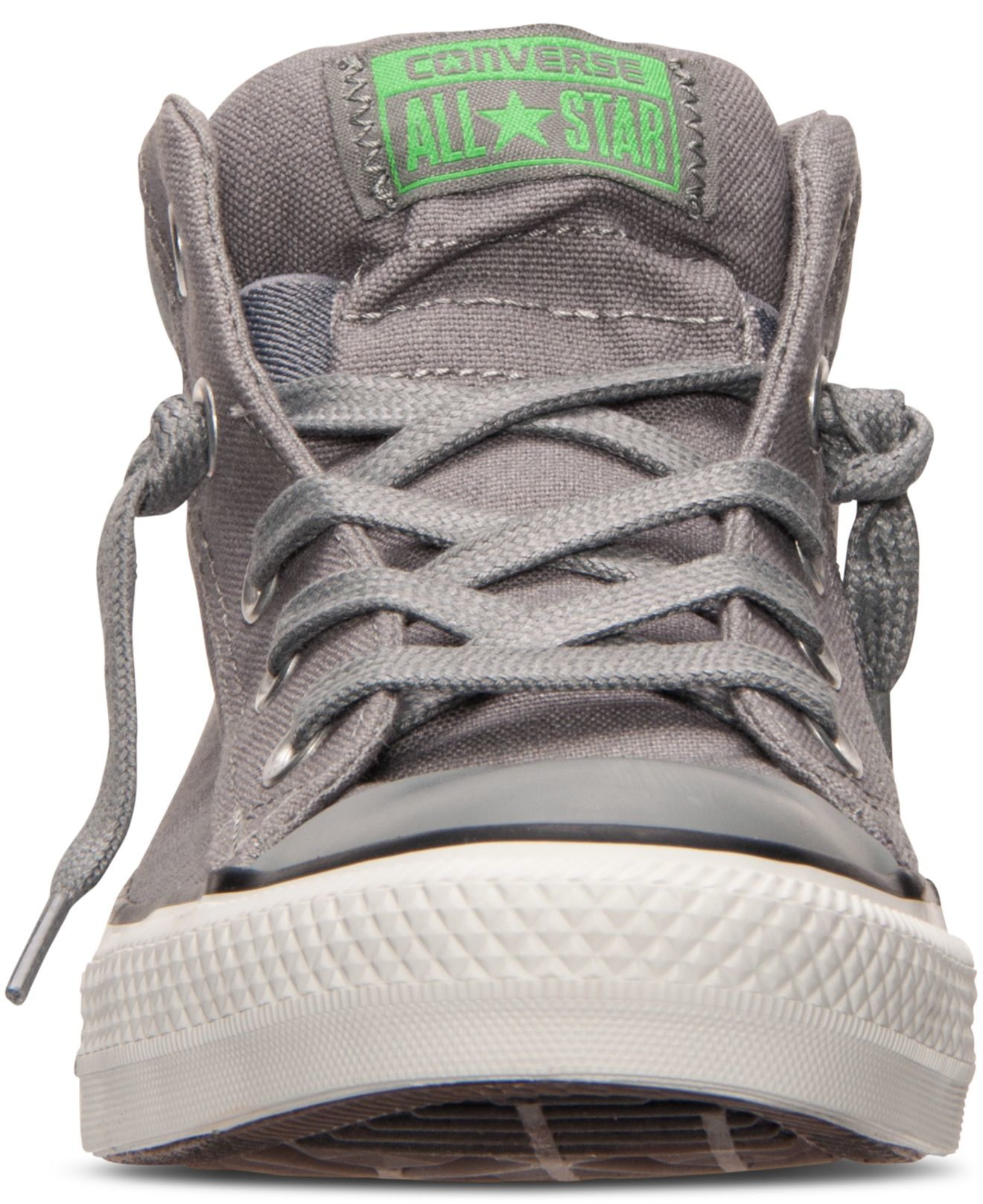 f8b2e5bcaa04 ... new zealand lyst converse mens chuck taylor street mid casual sneakers  from finish line in gray