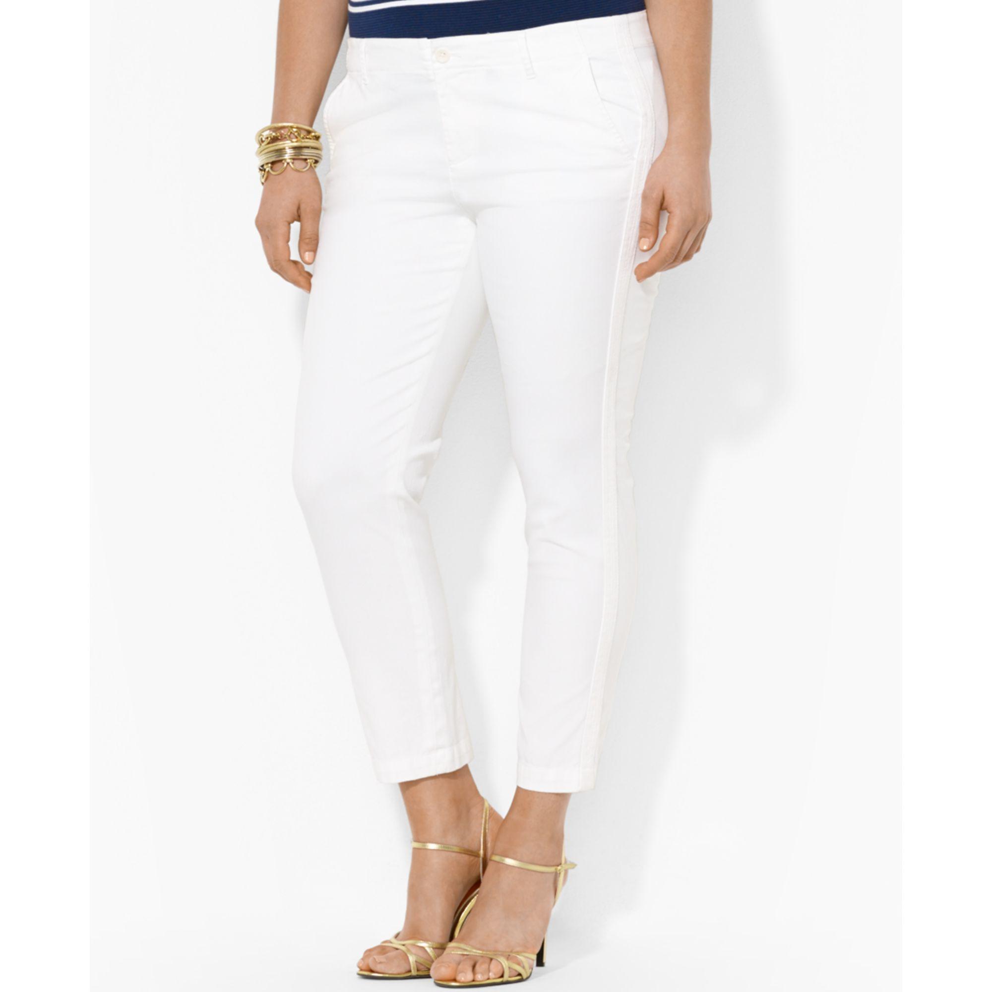 Lauren By Ralph Lauren Plus Size Straightleg Pants in ...