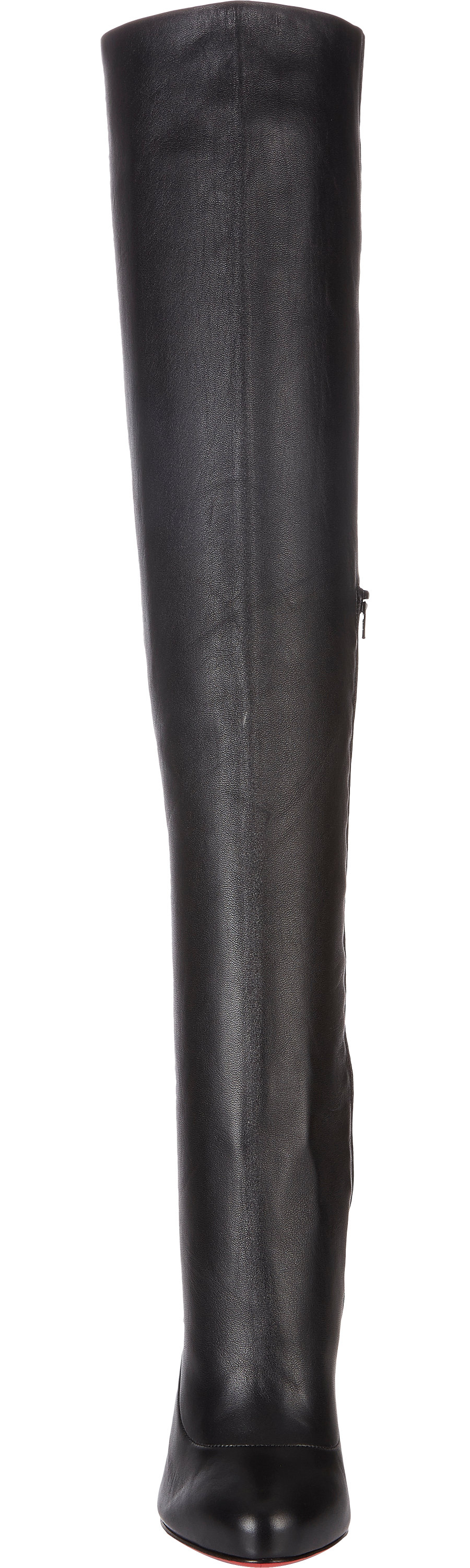 best replicas shoes - christian louboutin sempre monica 100 leather over-the-knee boots ...