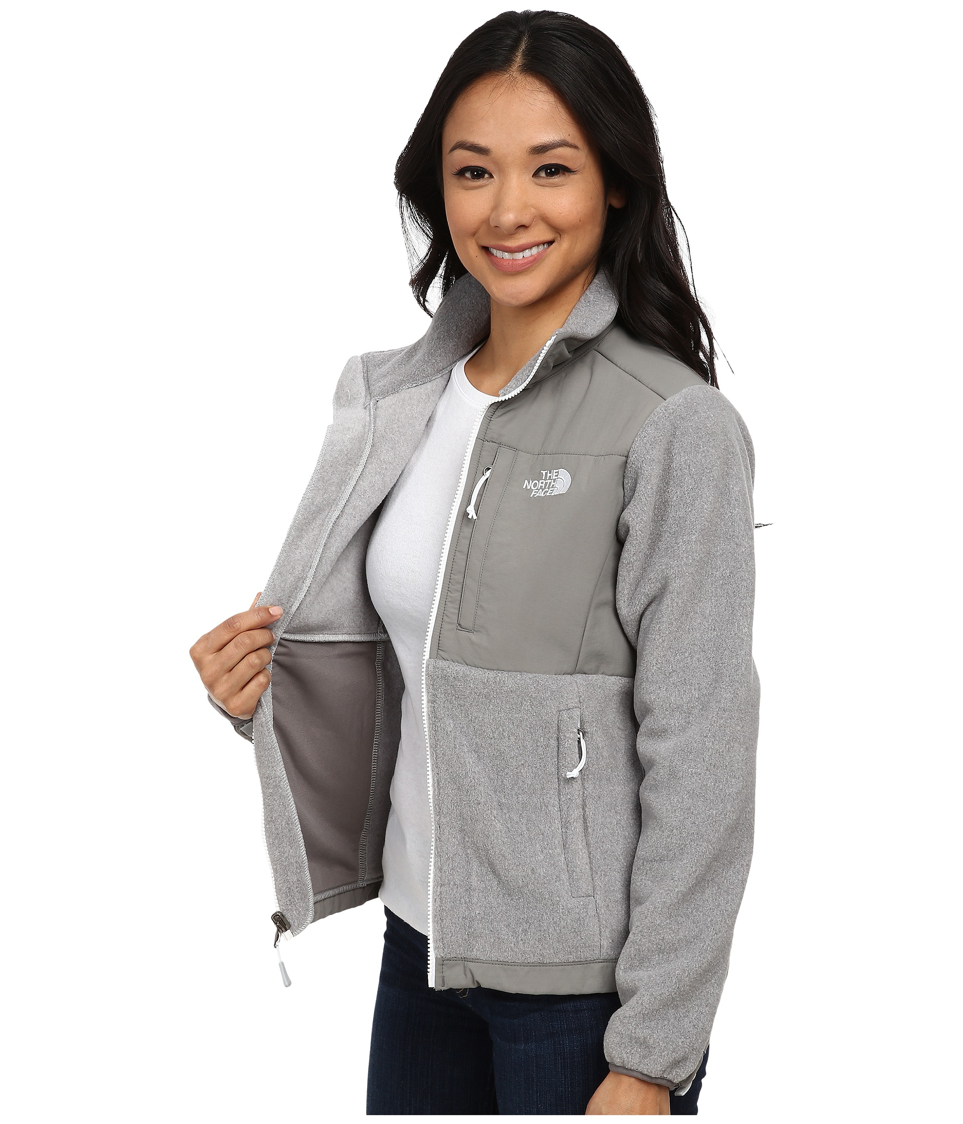 26fb82b03758 ... shopping lyst the north face denali jacket in gray 29929 d2c25