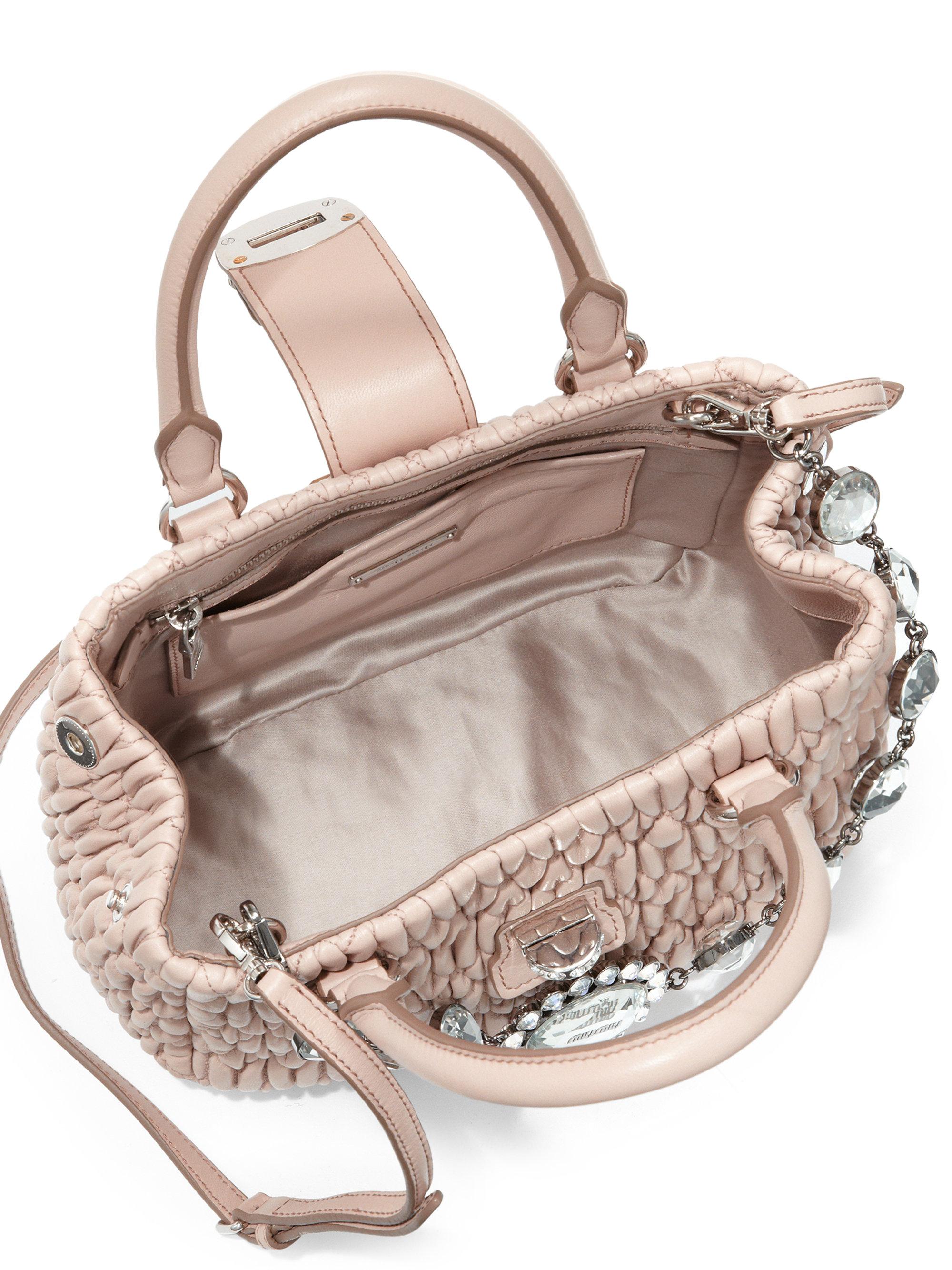 c874011a1606 Miu Miu Velvet Matelasse Quilted Belt Bag