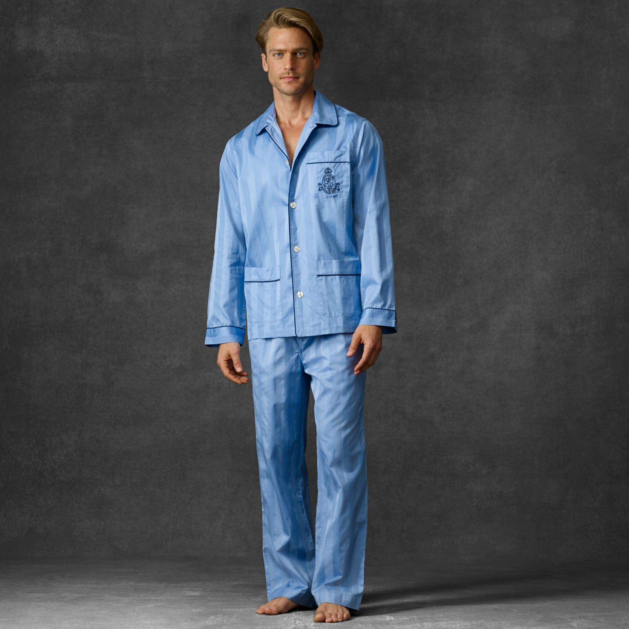 3ccc2d7394a9 Polo Ralph Lauren Cotton Pajama Set in Blue for Men - Lyst