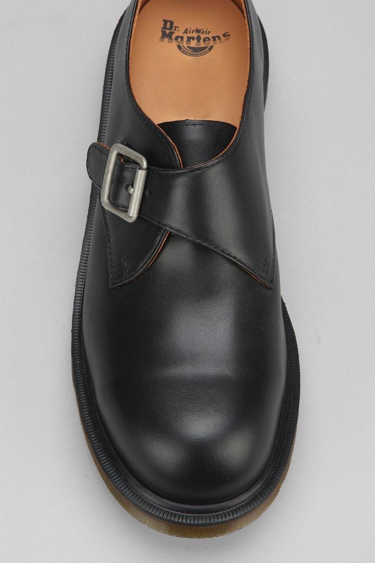 Lyst Dr Martens Joey Steeltoe Monk Shoe In Black For Men