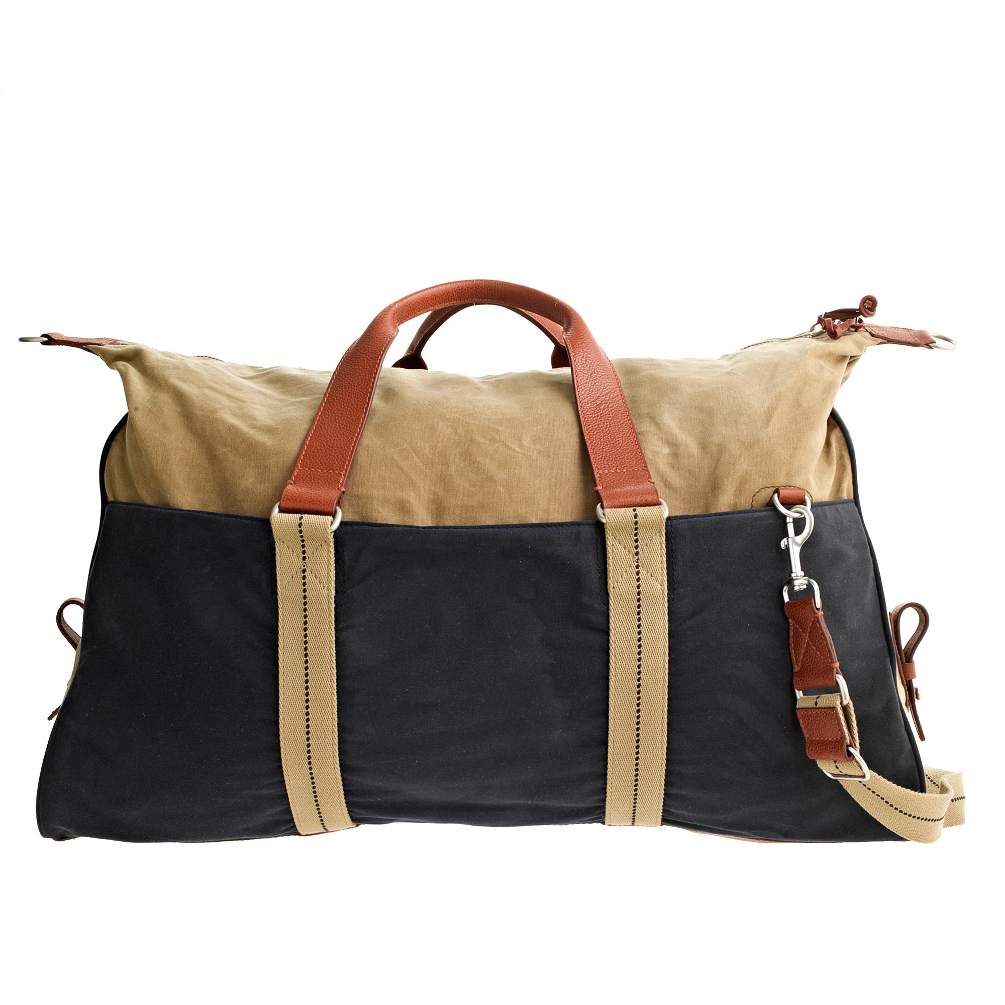 J.Crew Abingdon Weekender Bag In Two-tone in Natural for Men - Lyst 95310add64a39