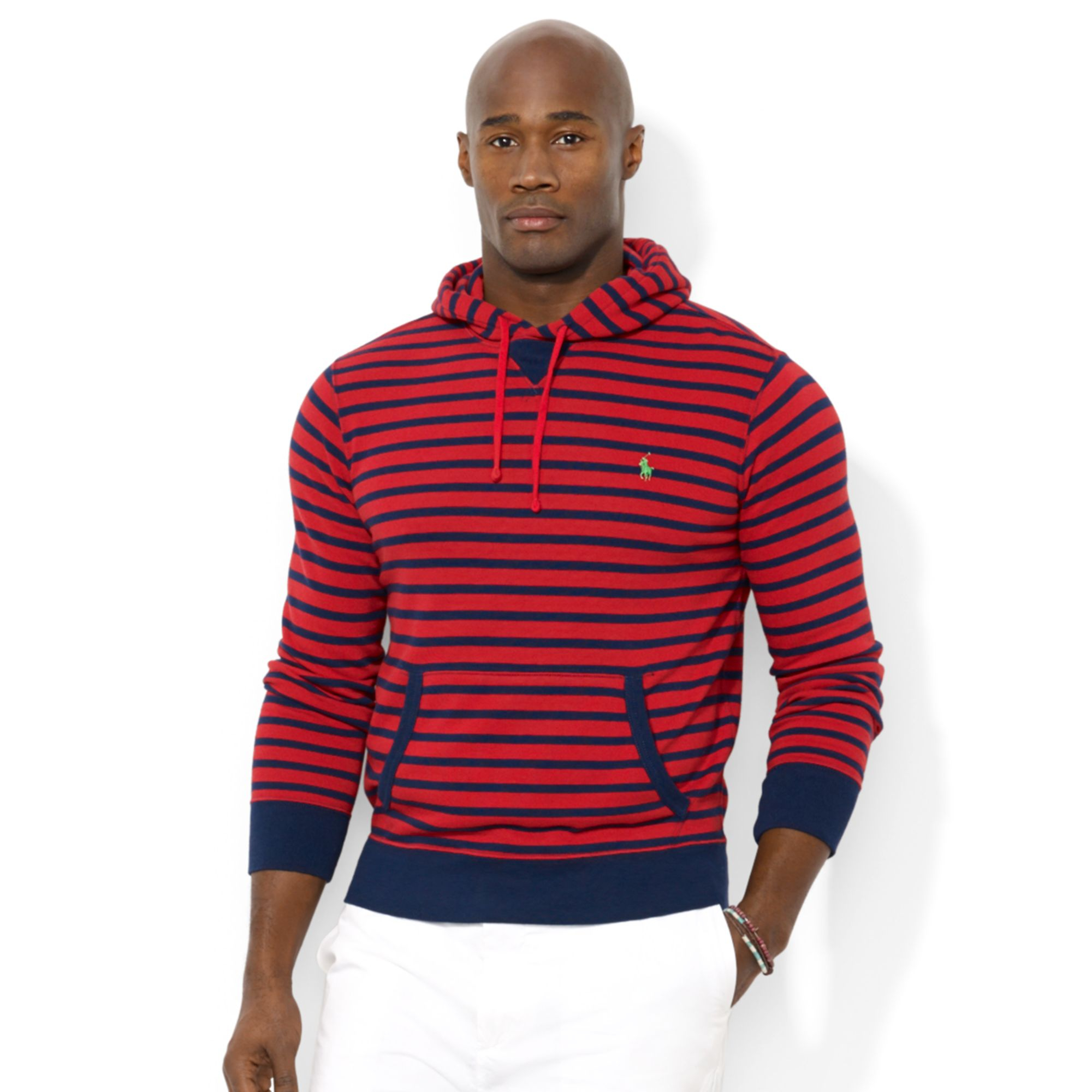 Ralph Lauren Polo Big And Tall Vineyard Lane Striped