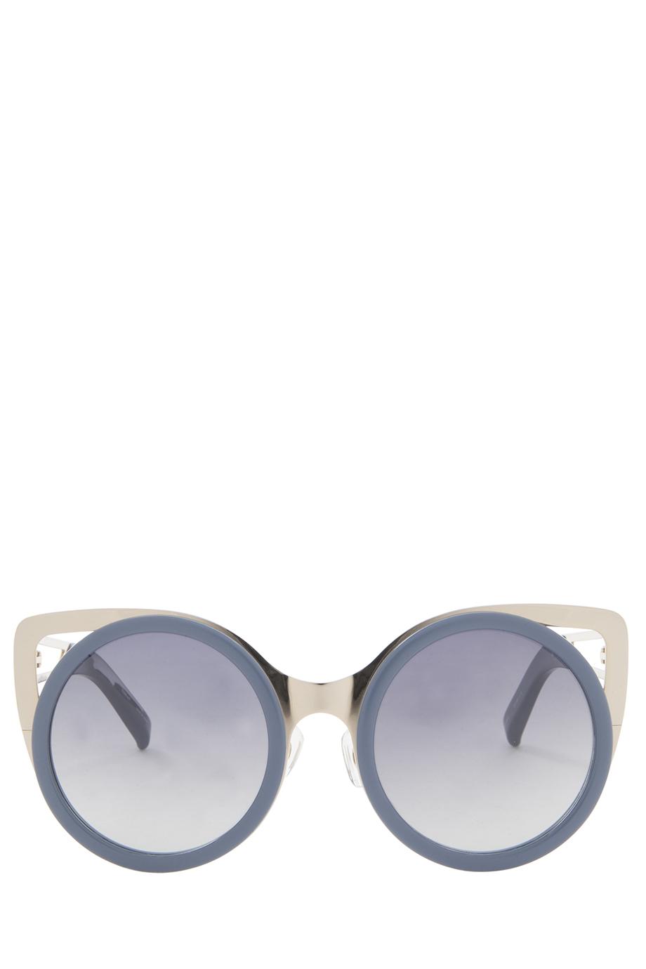 972e7cbe942 Lyst - Erdem X Linda Farrow Cat-eye Sunglasses in Blue