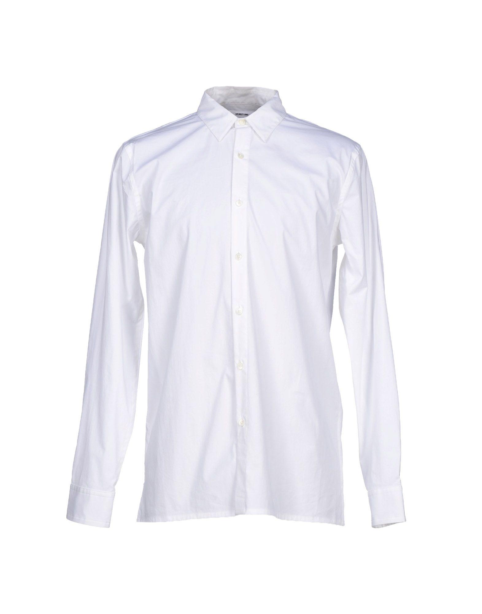 helmut lang shirt in white for men lyst. Black Bedroom Furniture Sets. Home Design Ideas