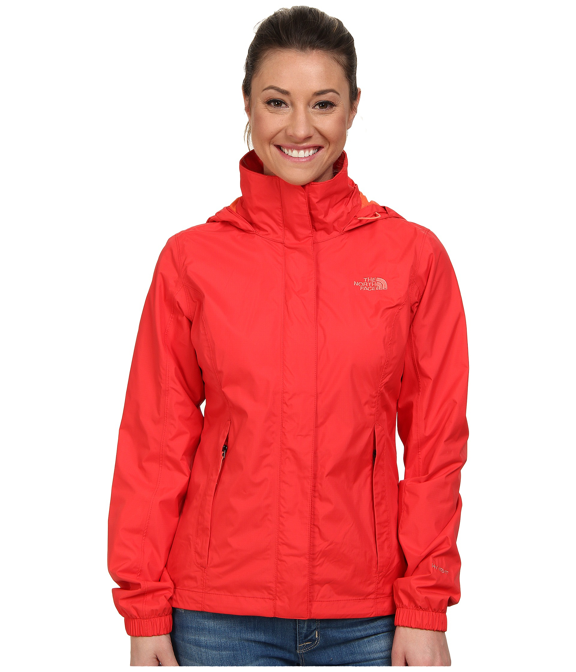 9bf9e80214e0 ... discount code for lyst the north face resolve jacket in red 5c276 860f3  ...