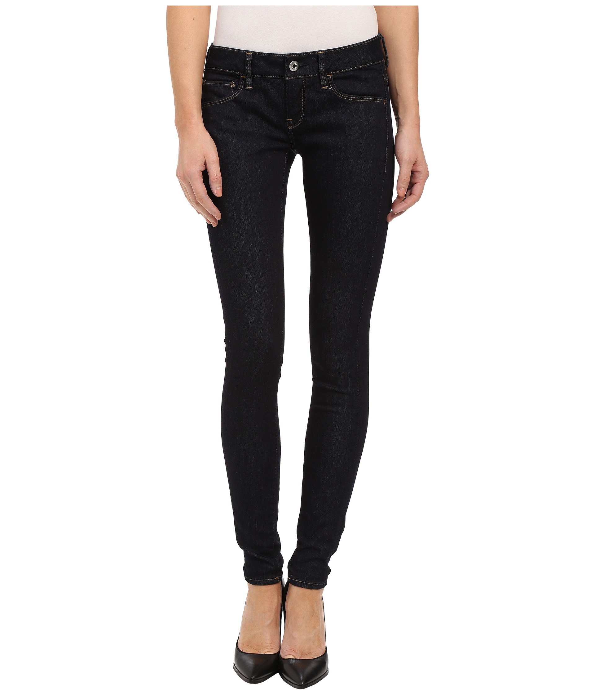 g star raw 3301 deconstructed low super skinny jeans in. Black Bedroom Furniture Sets. Home Design Ideas