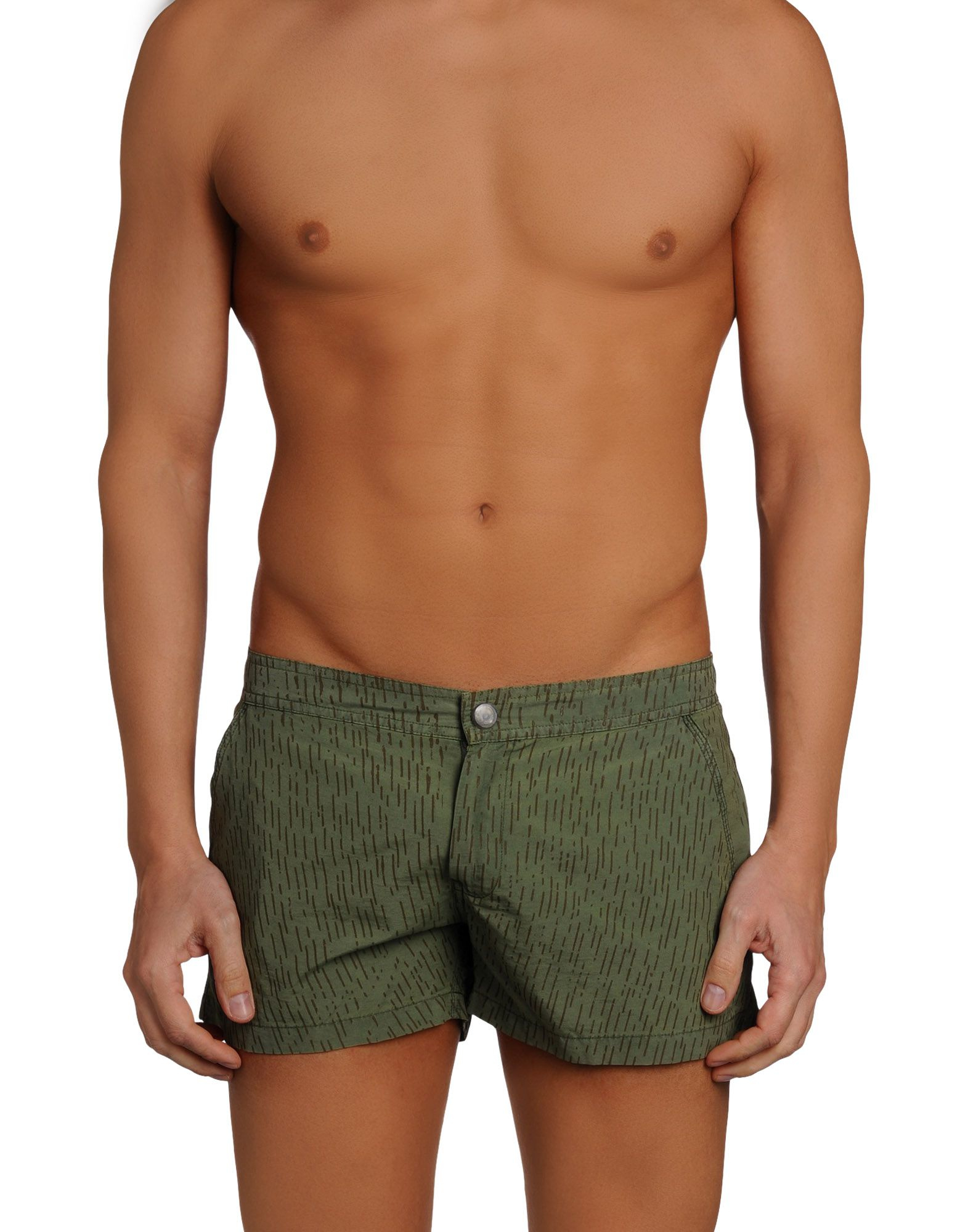 78bf01689c Replay Swimming Trunk in Green for Men - Lyst