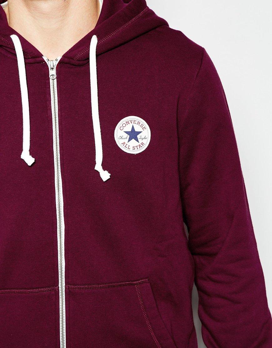 pelota Cantina Excretar  burgundy converse hoodie mens - 59% OFF - naonsite.com