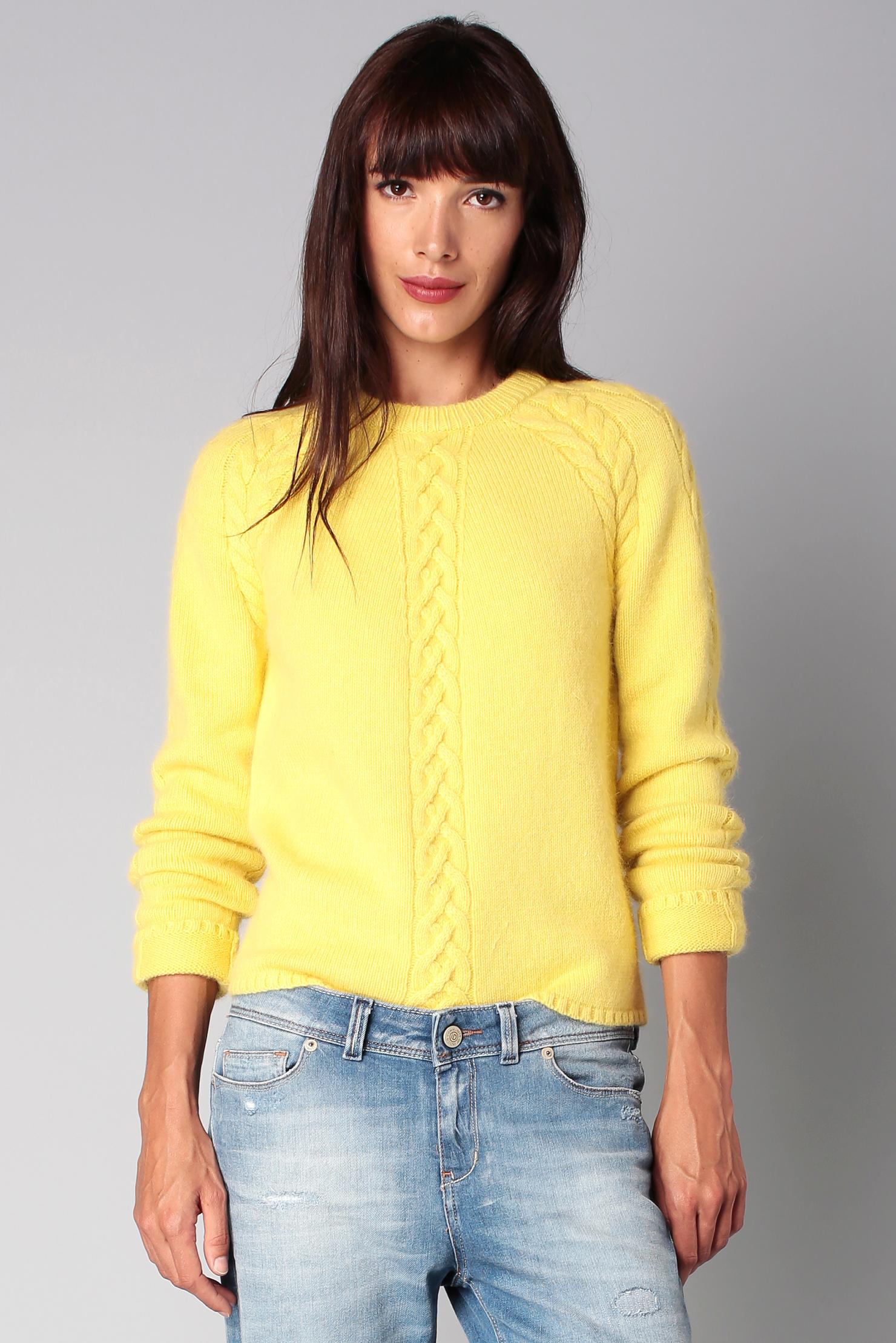 paul joe sister jumper in yellow lyst. Black Bedroom Furniture Sets. Home Design Ideas