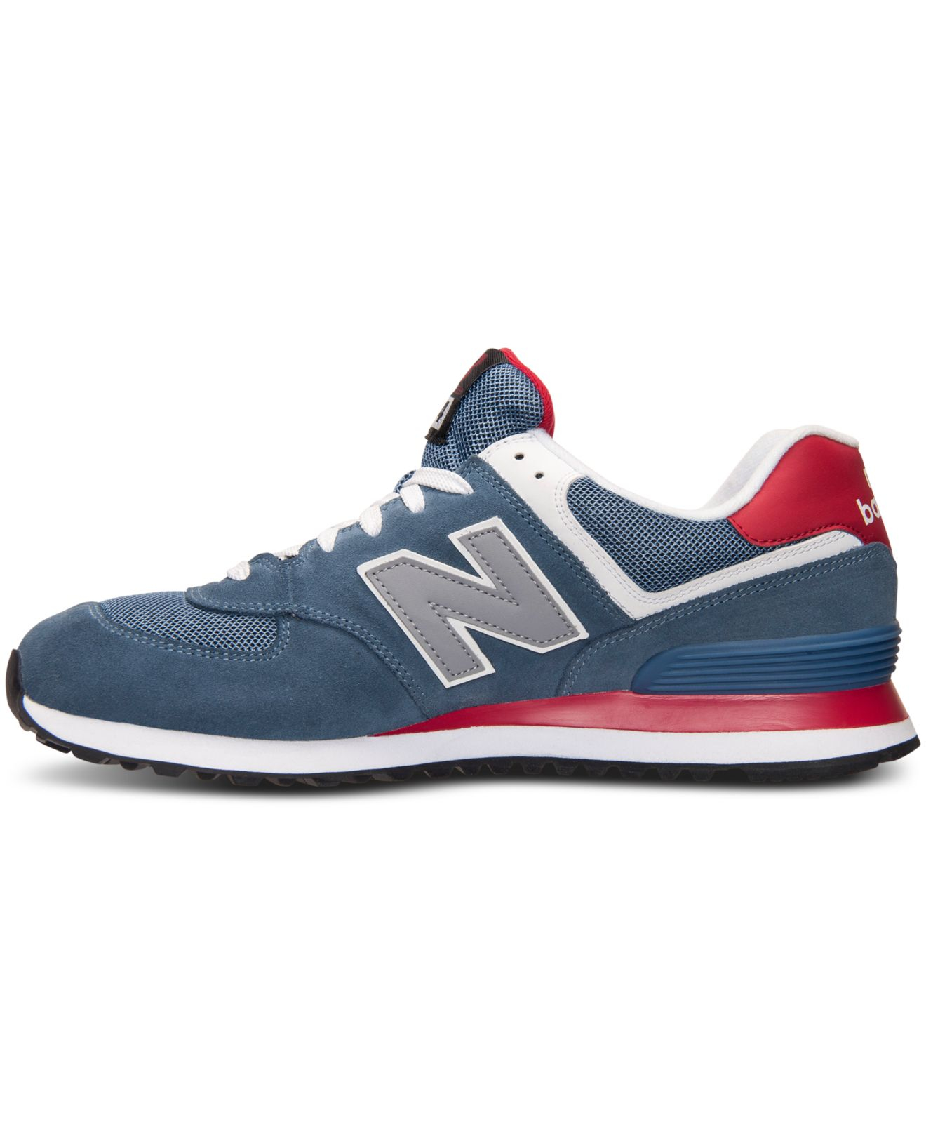 wholesale dealer bcf90 4a0ba New Balance Men's 574 Core Plus Casual Sneakers From Finish Line in ...