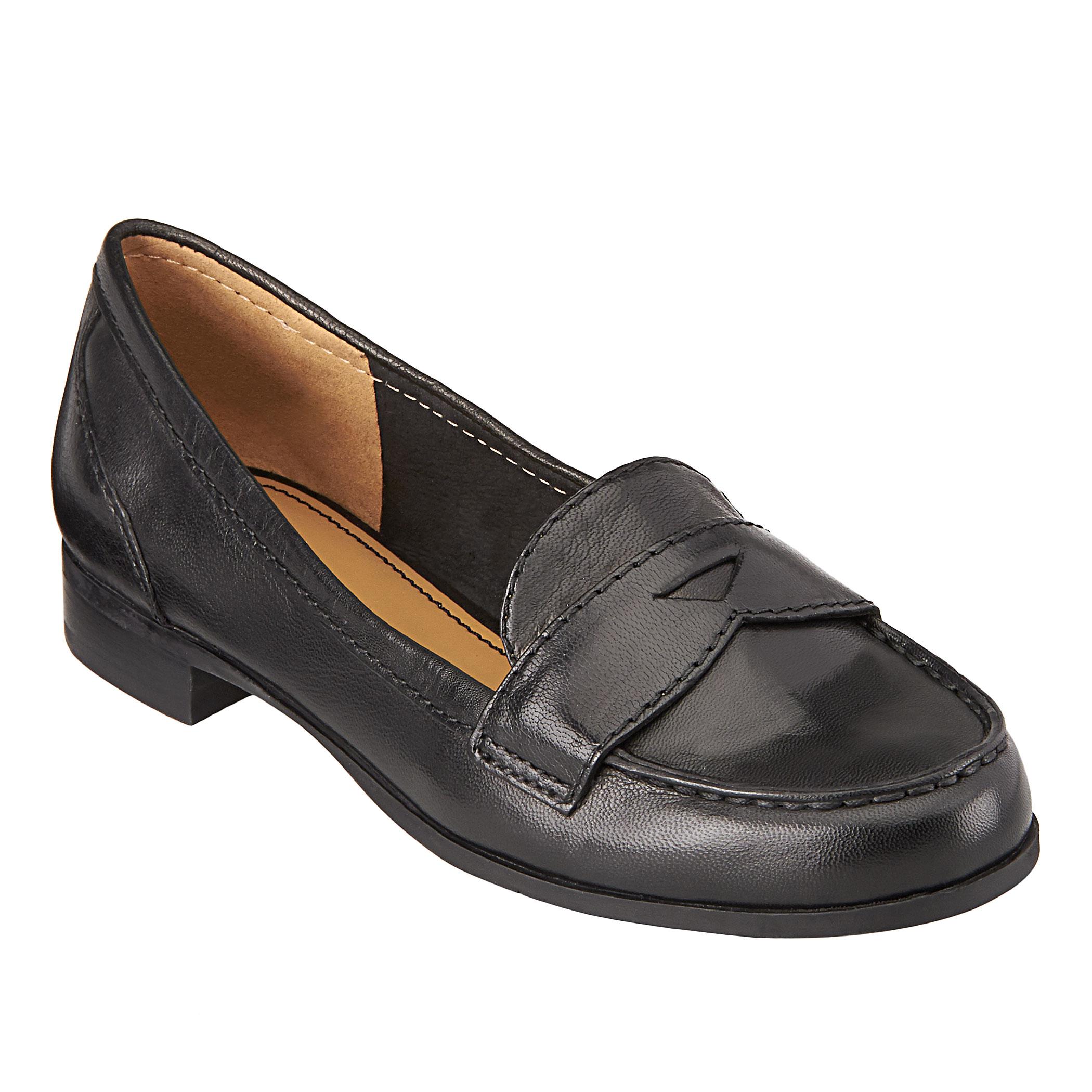 acaeaf20c2d Lyst - Nine West Sabeena Penny Loafer in Black