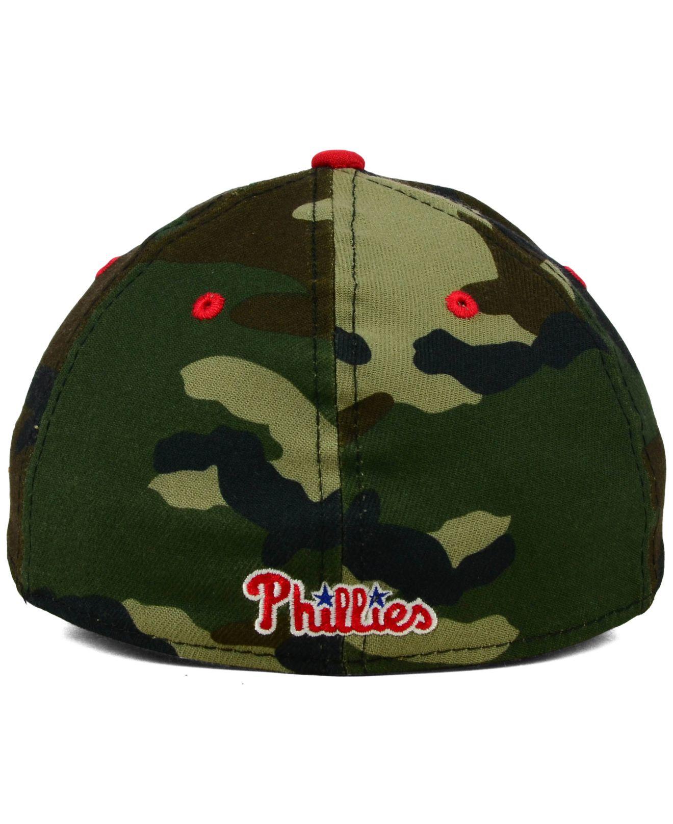 promo code dc138 d2e1d ... coupon lyst ktz philadelphia phillies camo classic 39thirty cap in  green 868ac 00c64