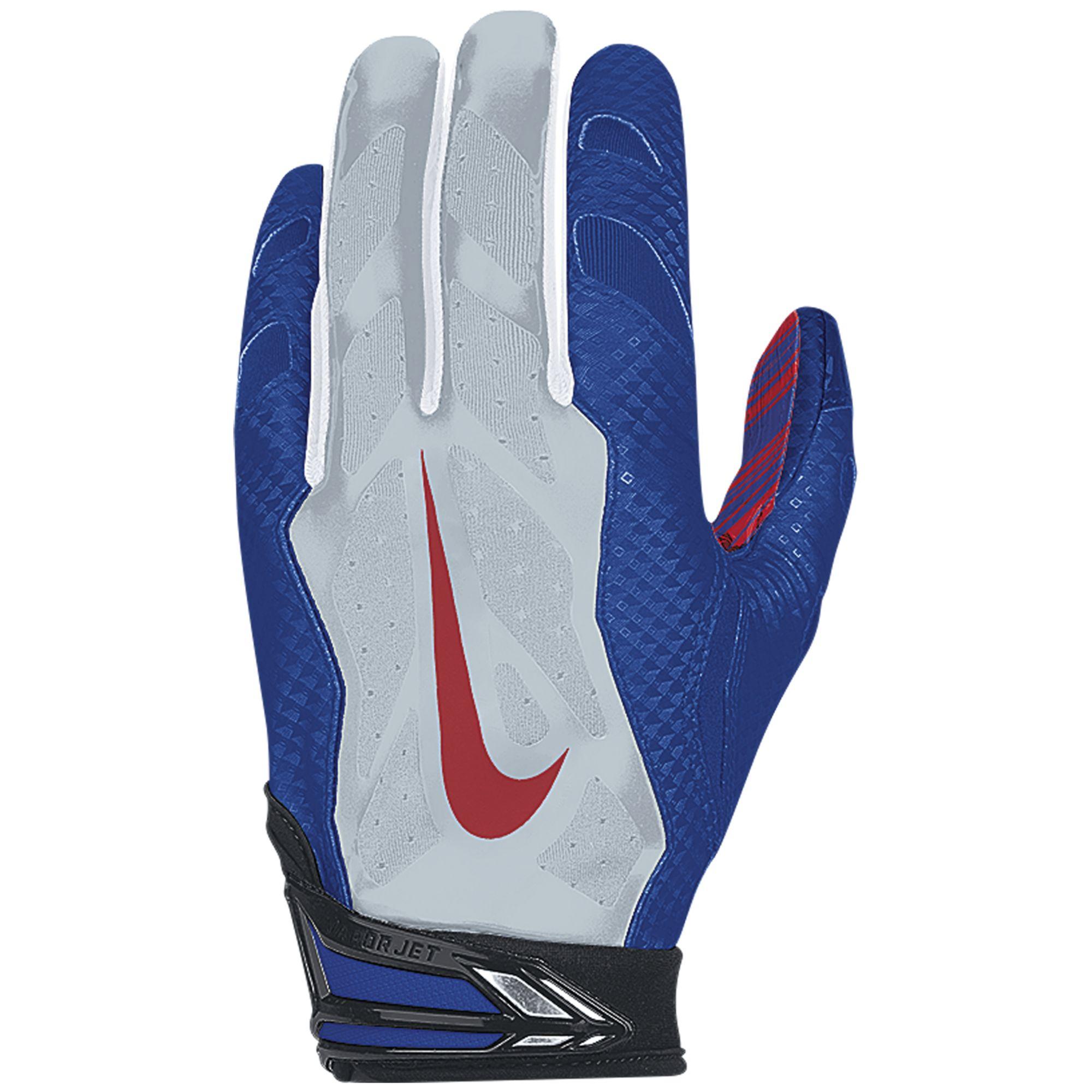 Jason Pierre Paul Glove: Nike Giants #59 Devon Kennard Royal Blue Team Color Men's