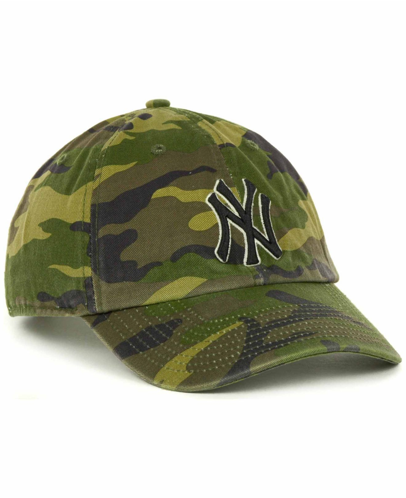 separation shoes 6926c 9fa6b 47 Brand New York Yankees Clean Up Hat in Green for Men - Lyst