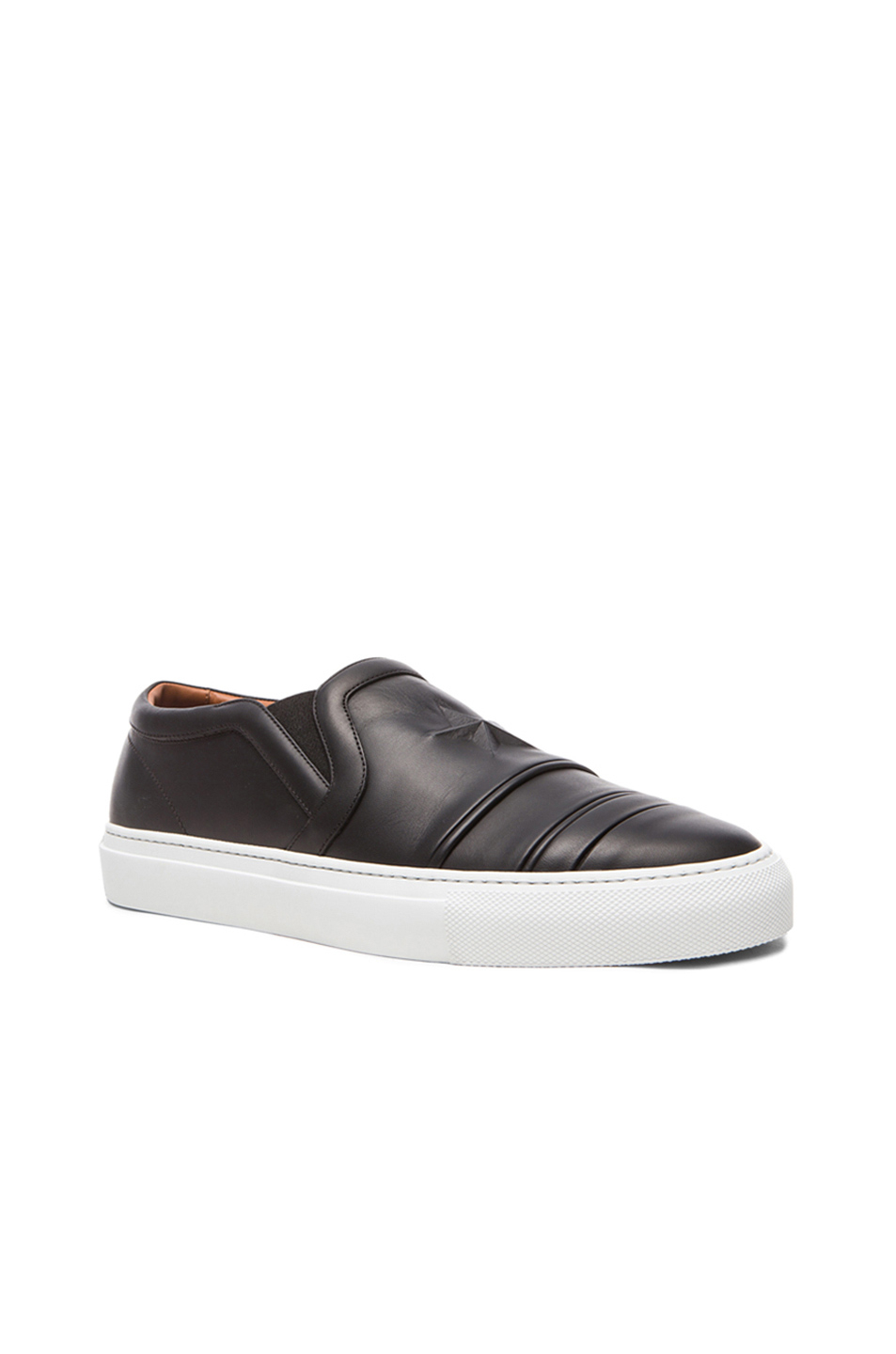 Givenchy Star Embossed Leather Skate Shoes