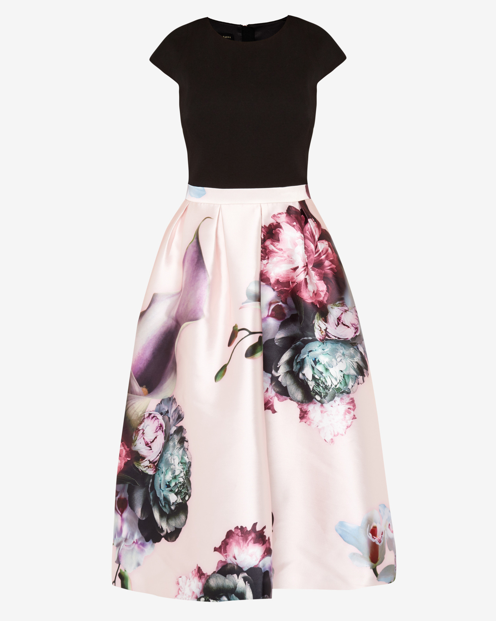 Lyst - Ted Baker Ethereal Posie Midi Dress