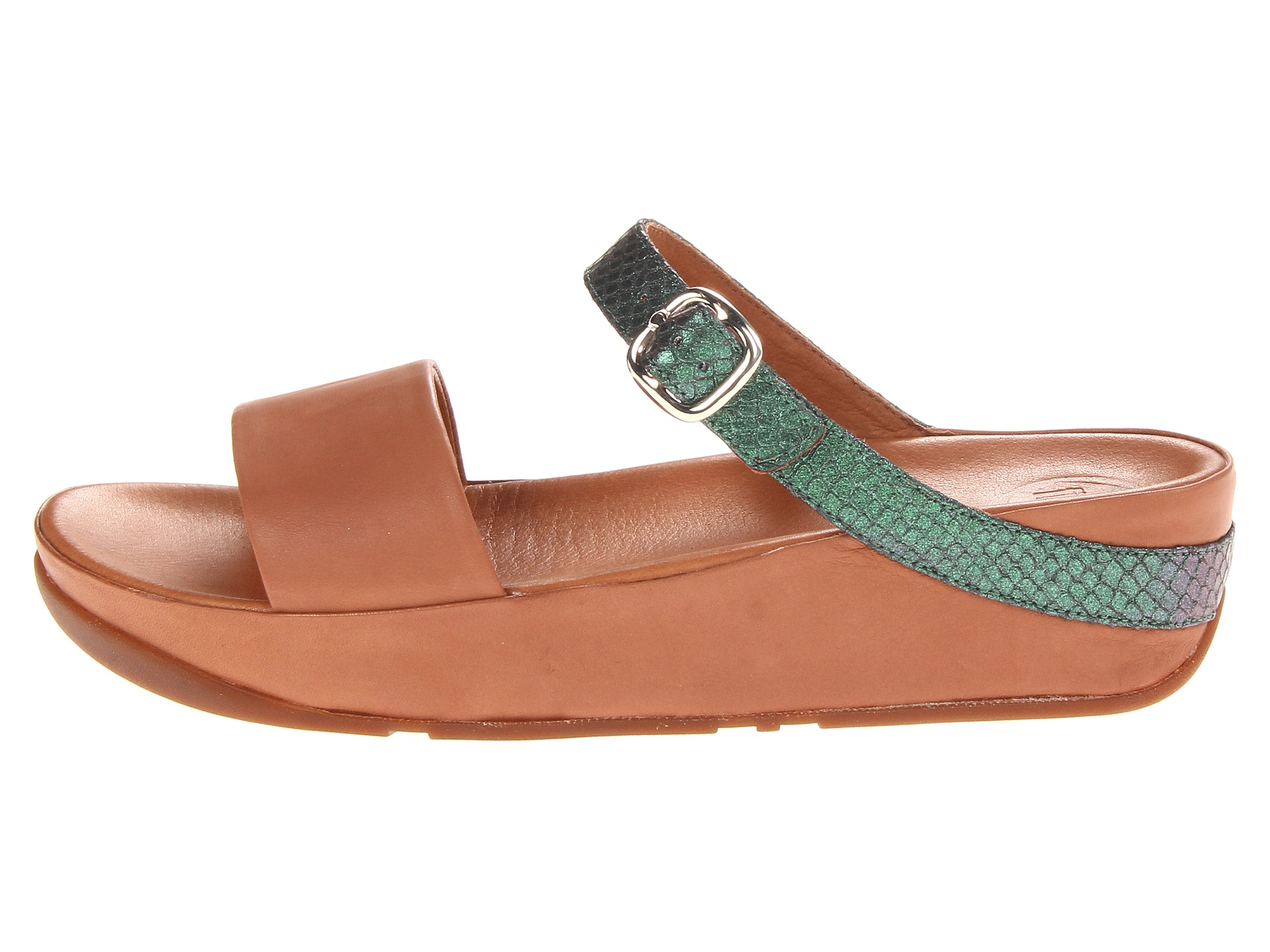 67a6dbb5e64d41 Lyst - Fitflop Souza in Green