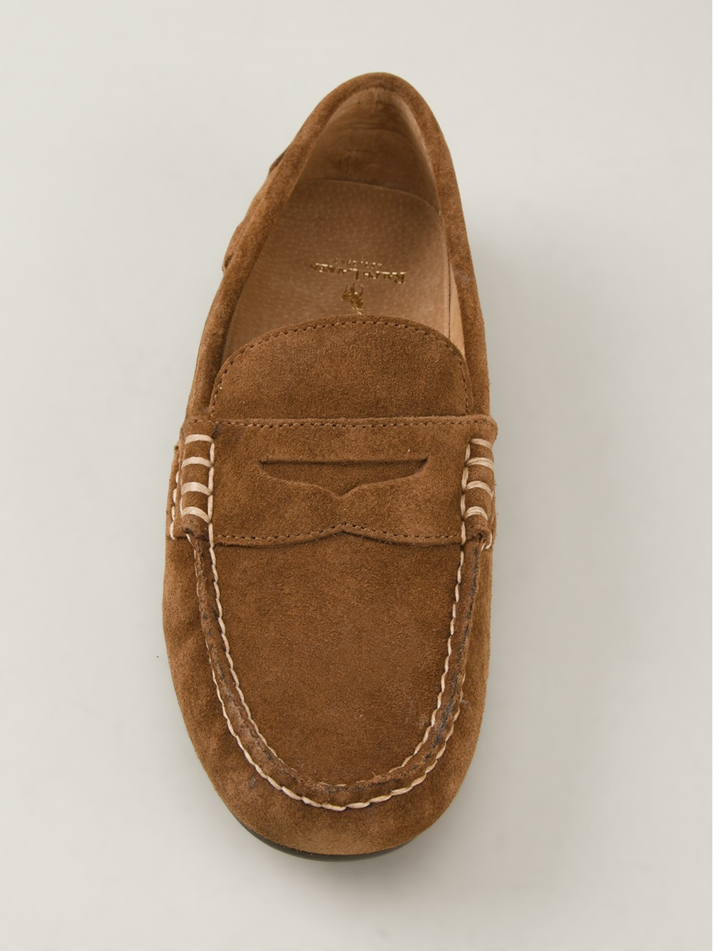 e5a1624f8c1 Lyst - Polo Ralph Lauren Wes Penny Loafer in Brown for Men