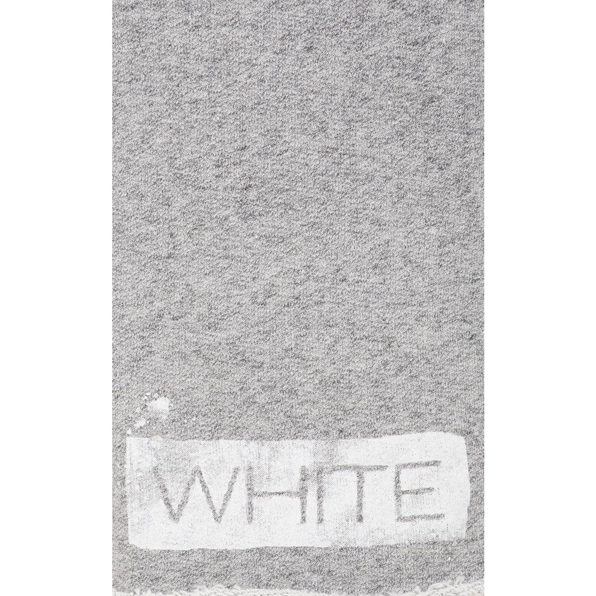 off white c o virgil abloh sweat shorts in gray for men lyst. Black Bedroom Furniture Sets. Home Design Ideas