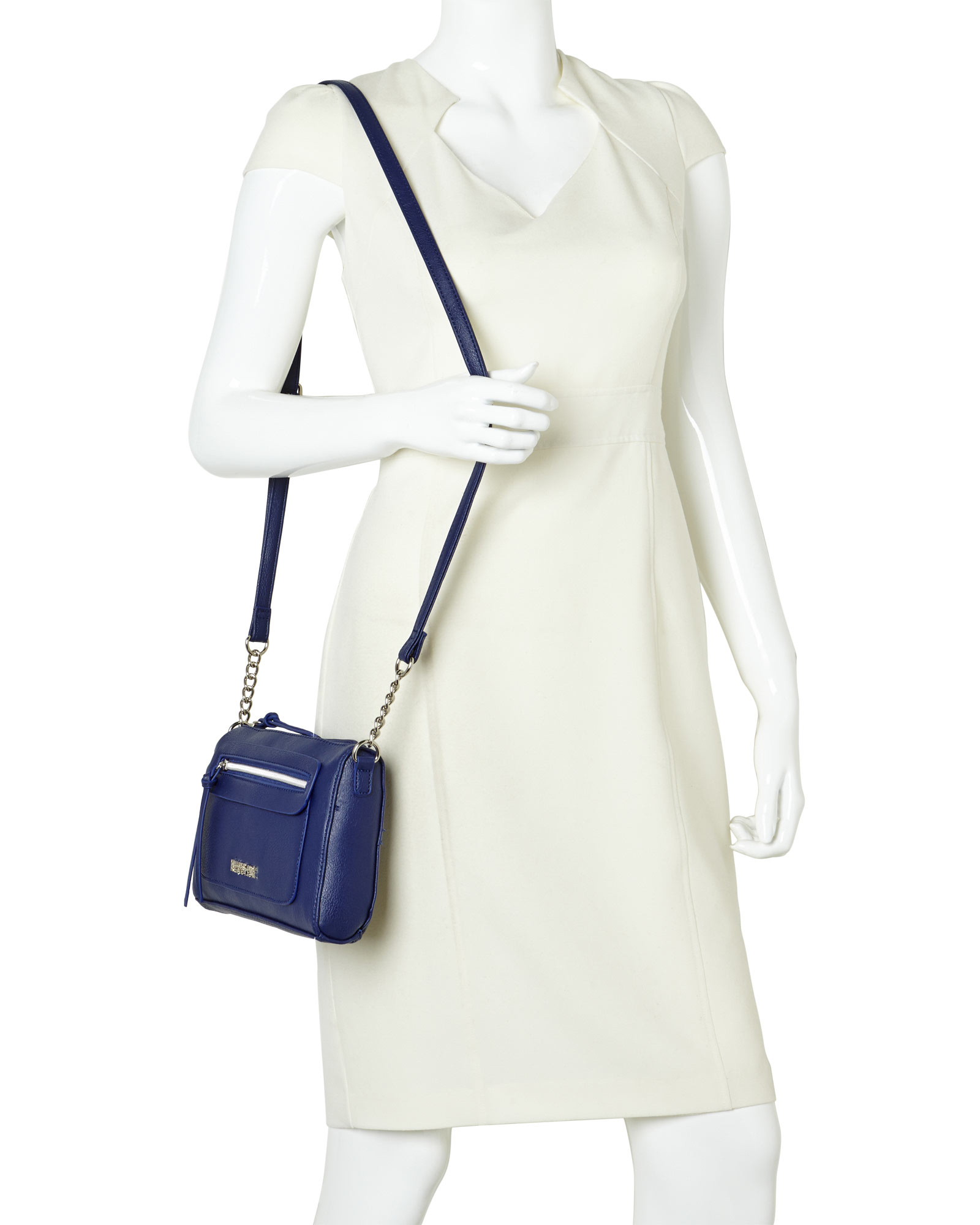 8018d249d Kenneth Cole Reaction Navy Town Mini Crossbody in Blue - Lyst