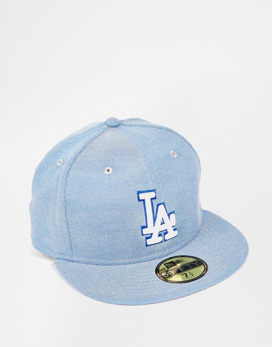 4f8eafb9888878 KTZ 59fifty Teamsox La Dodgers Snapback Cap in Blue for Men - Lyst