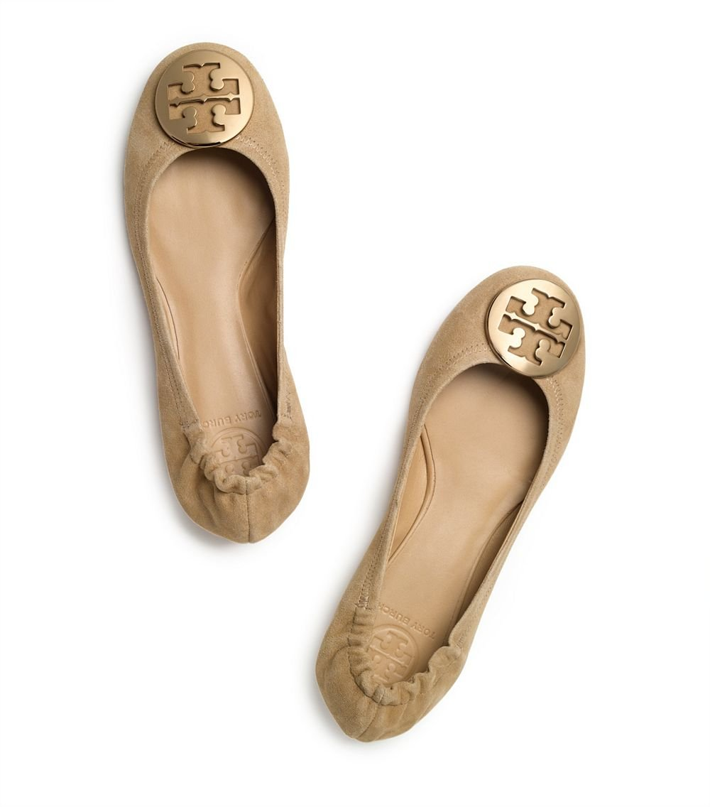 view sale online Tory Burch Suede Reva Flats for sale 2014 buy cheap newest BchgUA