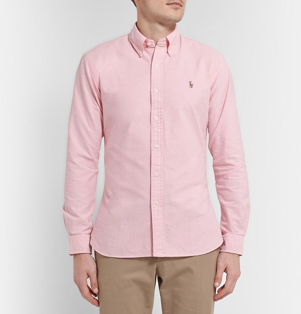 Polo Ralph Lauren Slim Fit Button Down Collar Cotton