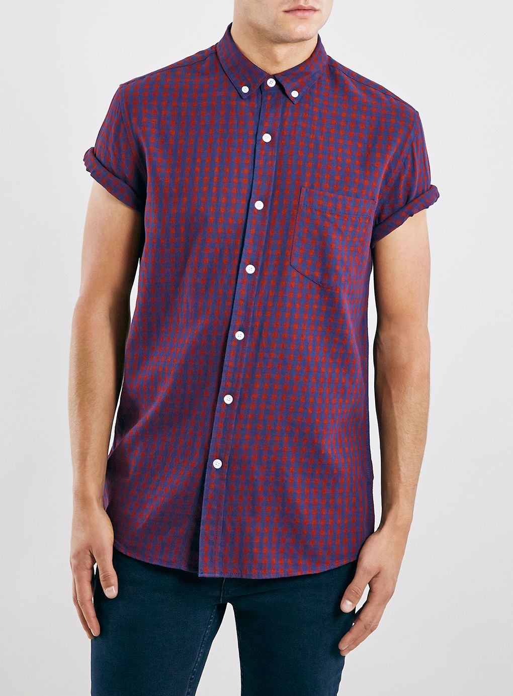 Take casual style to the next level with our Men's Short Sleeve Shirts. Their breathable and lightweight fabric is comfortable, and the short sleeves keep you cool. With styles ranging from plaid shirts to chambray shirts, these short sleeve tops are a staple in men's fashion.