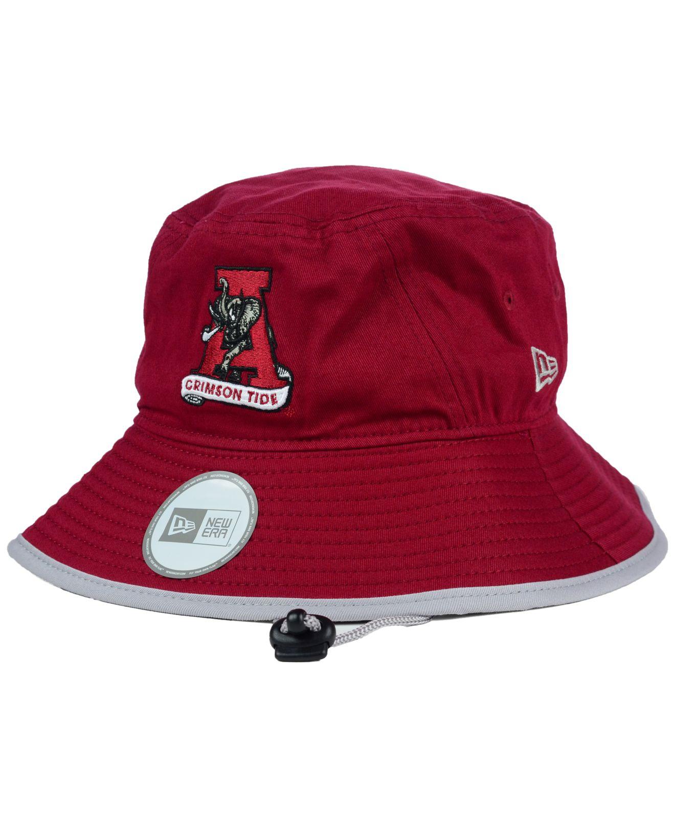 63e0fef2488 ... amazon lyst ktz alabama crimson tide tip bucket hat in red for men  abefa 8cb81