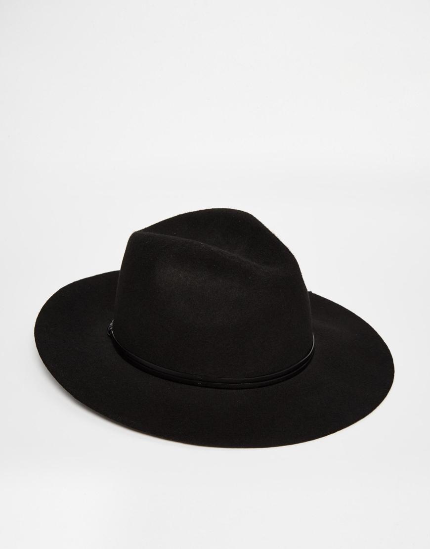 63b55469fc8 ... 100 wool felt jewish hat men israel large wide brim 12 cm black jew mens  fedora. Gallery Men S Wide Brim Hats. Lyst Catarzi Wide Brim Unstructured  ...
