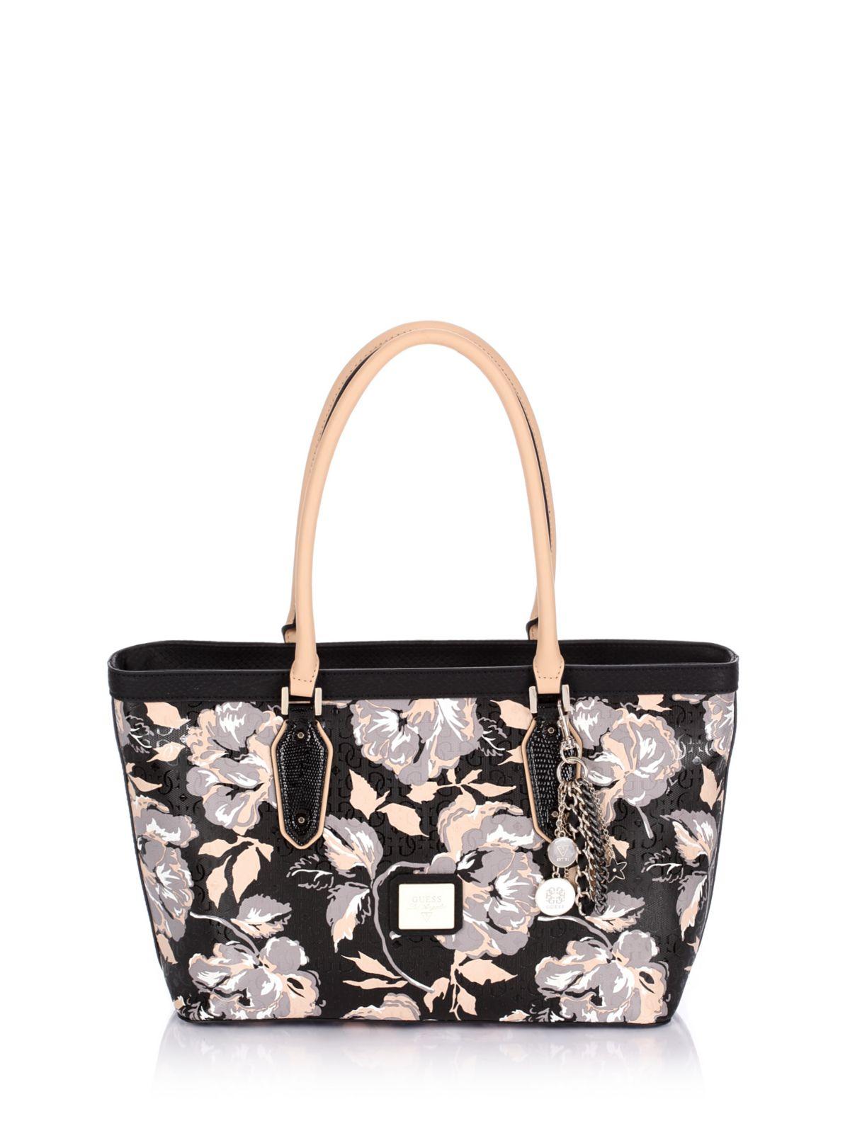 Guess Blossom Medium Classic Floral Tote Bag | Lyst