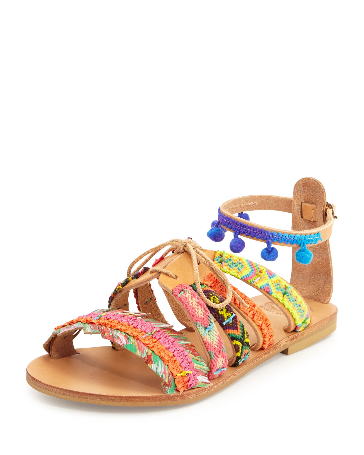 Woven Leather Shoes Colors