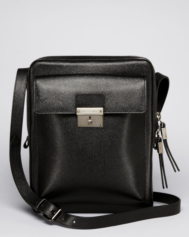 Lyst - Burberry London Shaldon Crossbody Bag in Black for Men ca48f4d916c7c