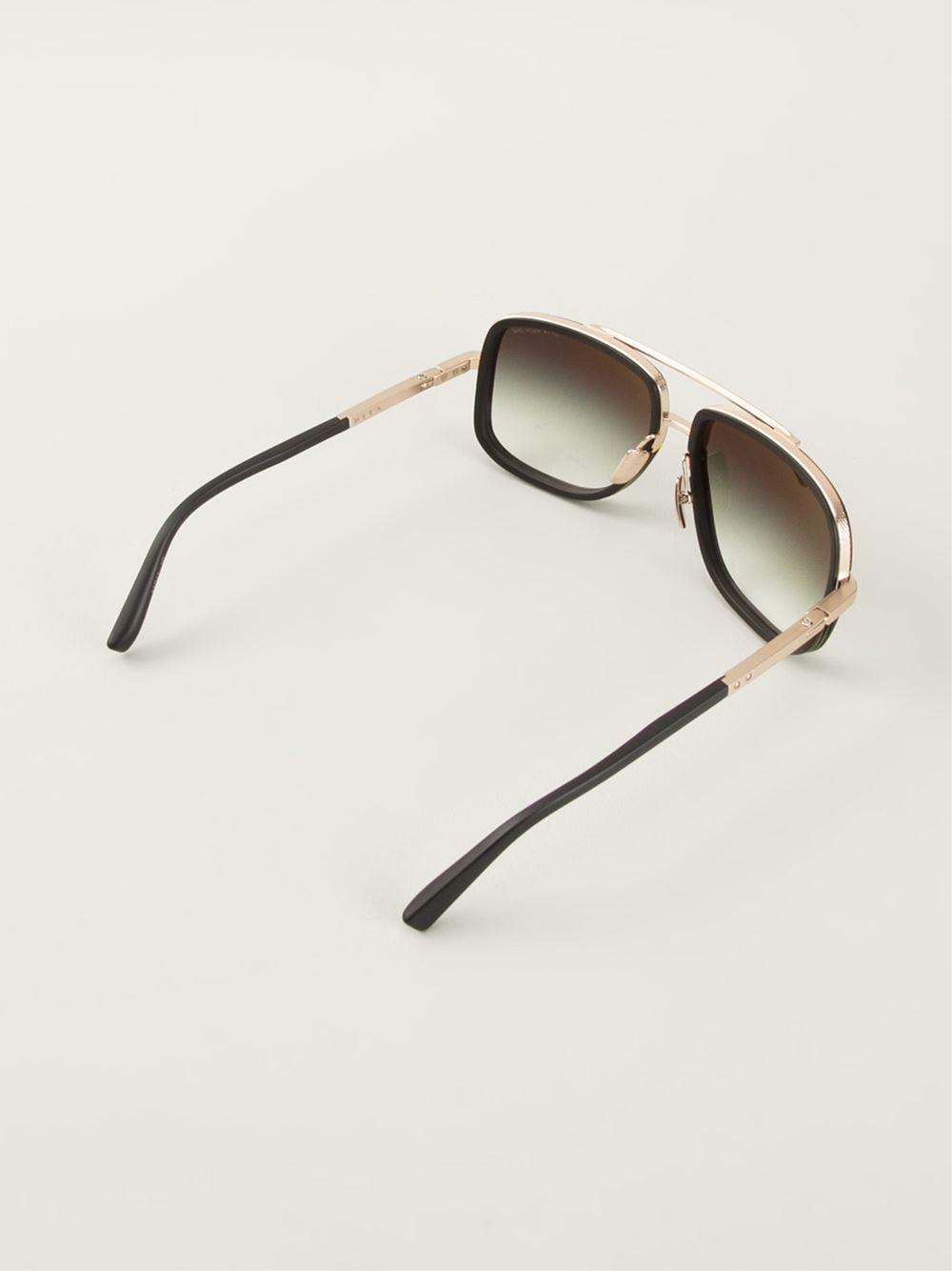 Dita Eyewear Dita Sunglasses In Metallic For Men Lyst