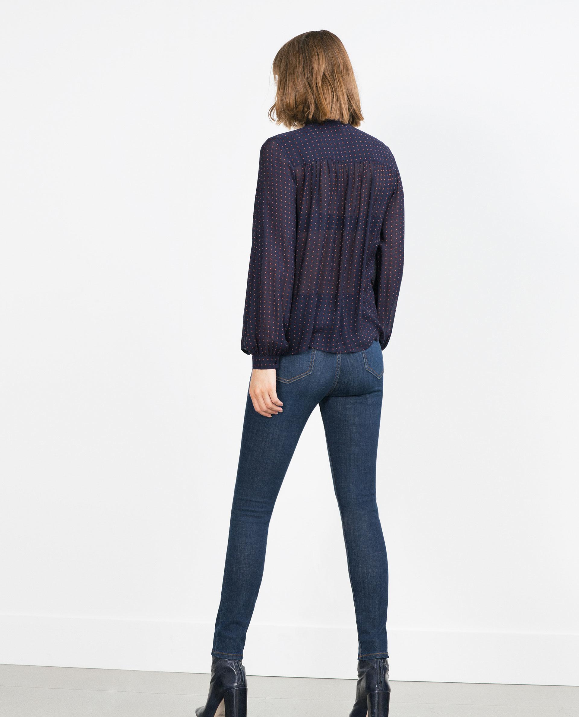 Zara Maternity Jeans in Blue | Lyst
