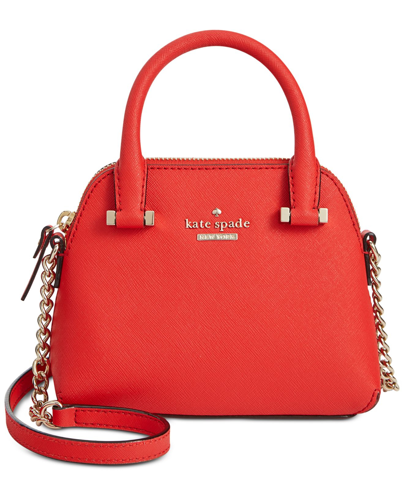 Lyst - Kate spade new york Cedar Street Mini Maise Bag in Red