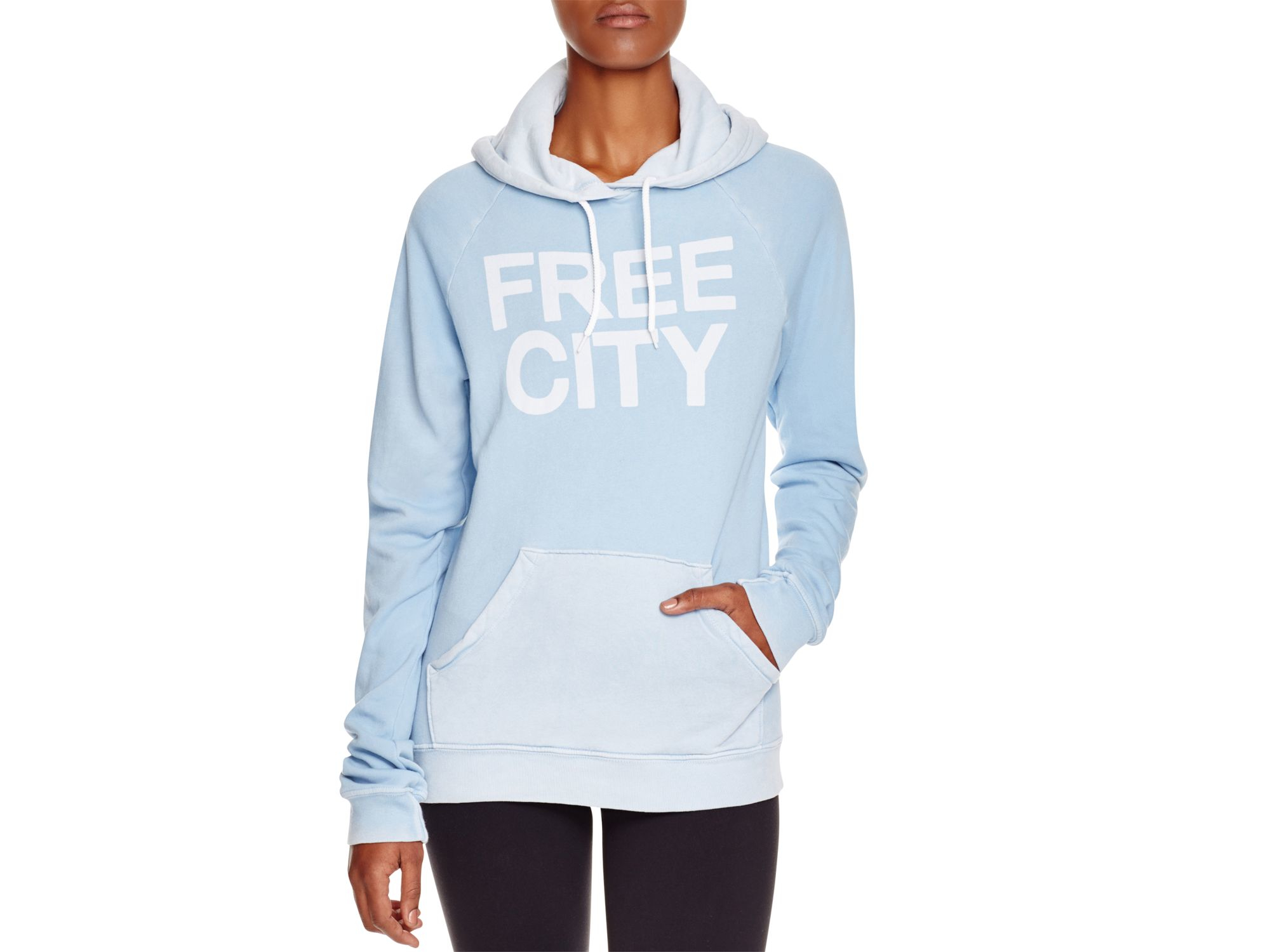 82256004d6ca99 Lyst - FREE CITY Basic Goodness Hoodie Sweatshirt in Blue