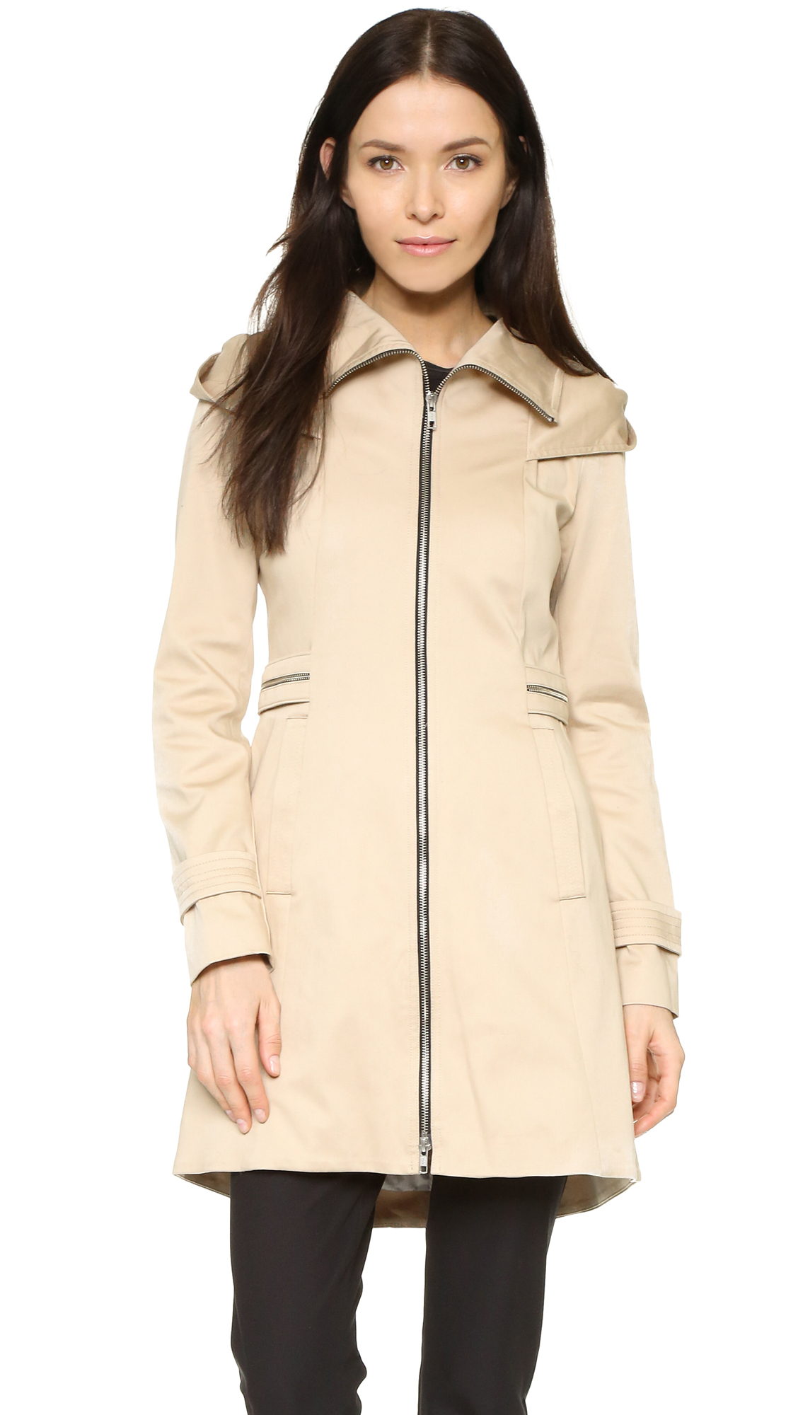 Soia Amp Kyo Maely Coat In Natural Lyst