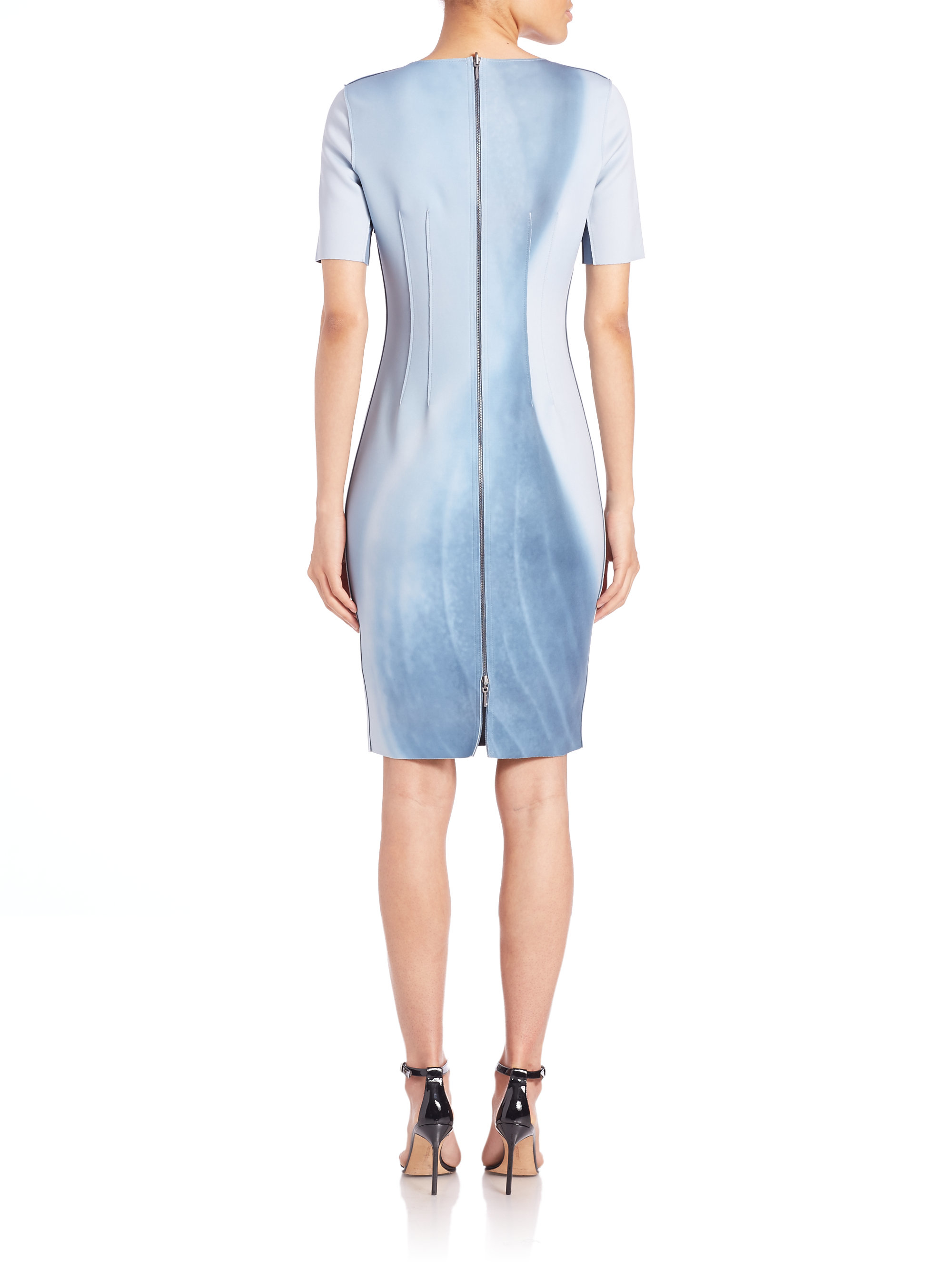 d50ed82ef590 Elie Tahari Gwenyth Dress in Blue - Lyst