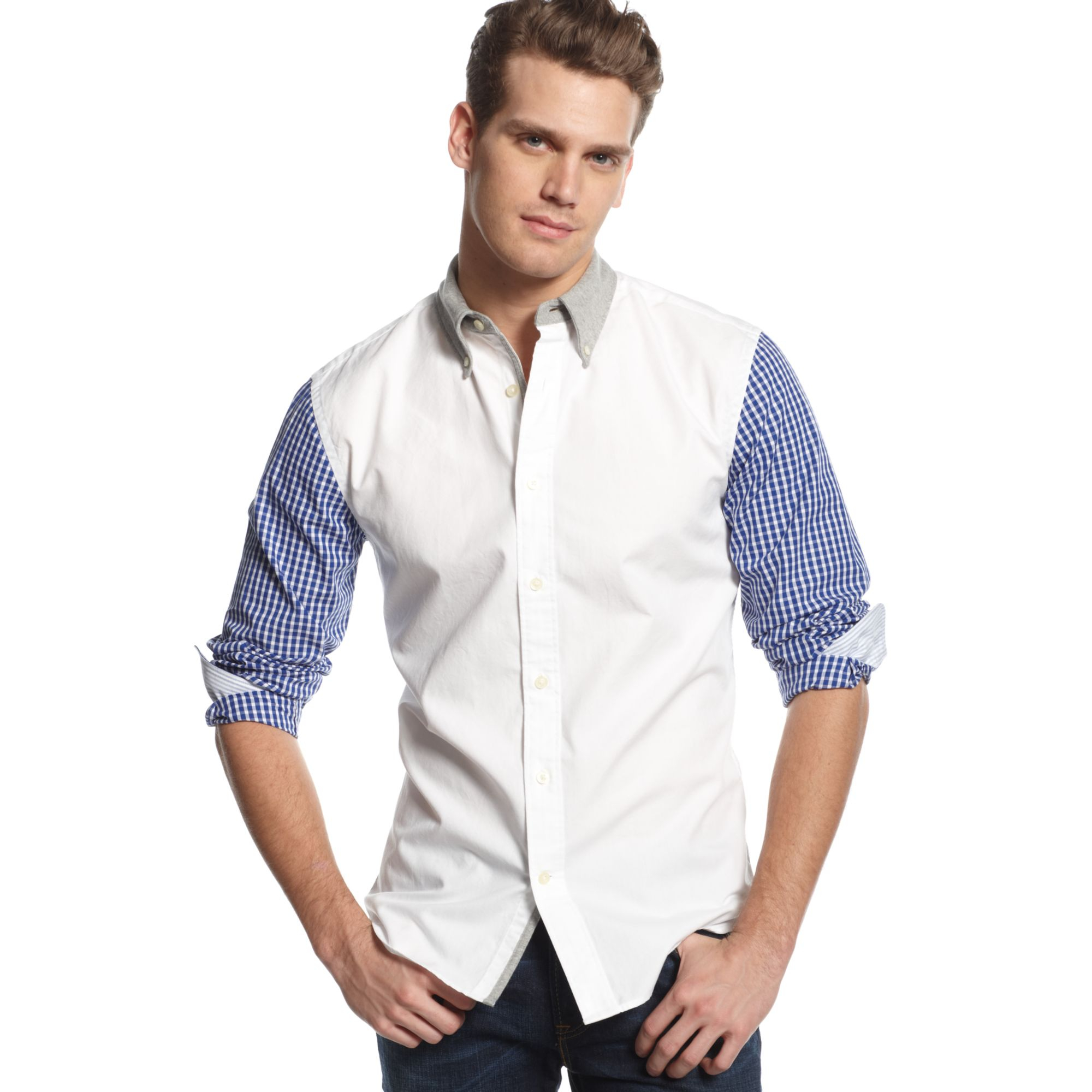 Tommy Hilfiger Desmond Shirt In White For Men Classic