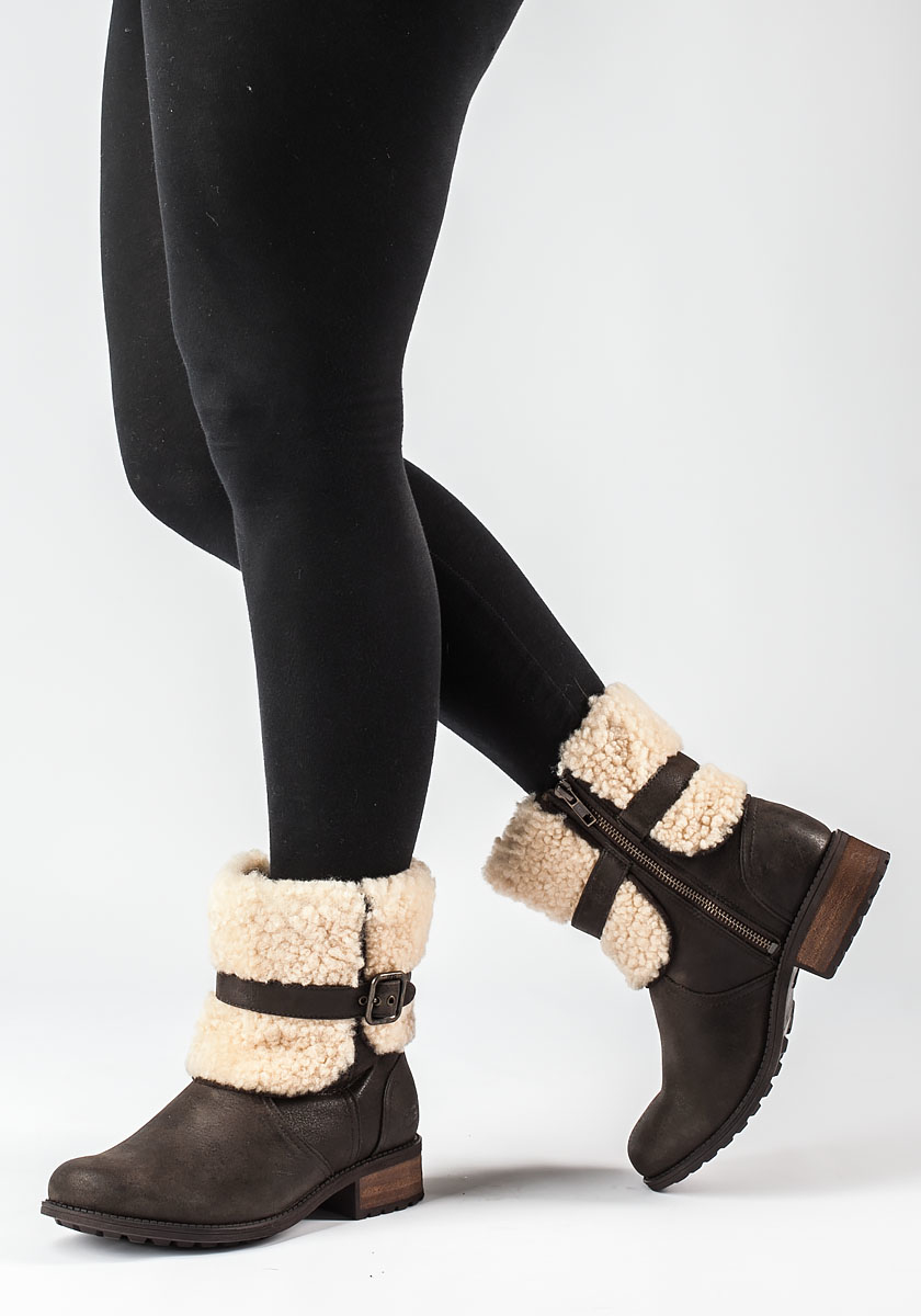 Ugg Blayre Ii Brown Distressed Boot In Brown Lyst