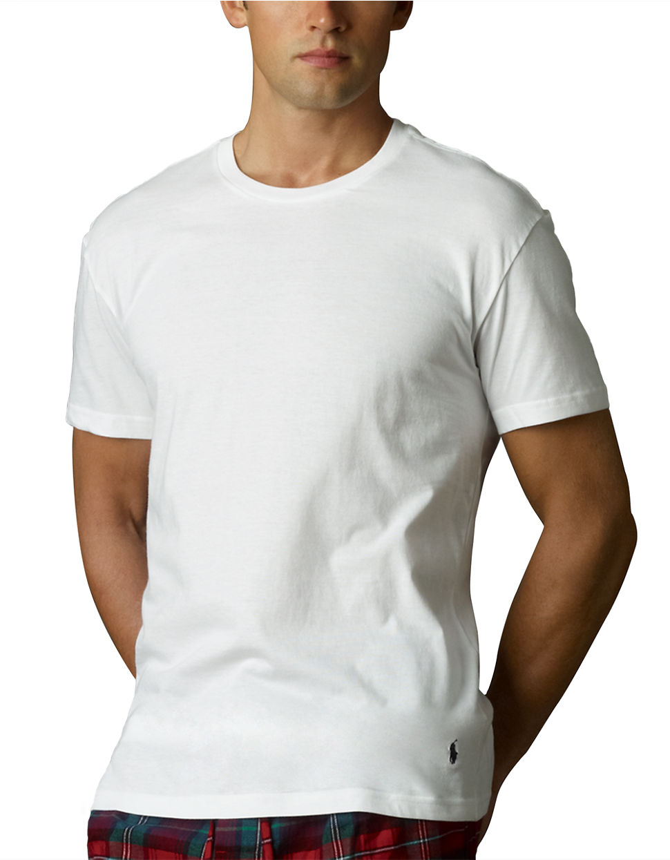 073f754a8 Polo Ralph Lauren Slim Fit Crew T-shirt Three-pack in White for Men ...